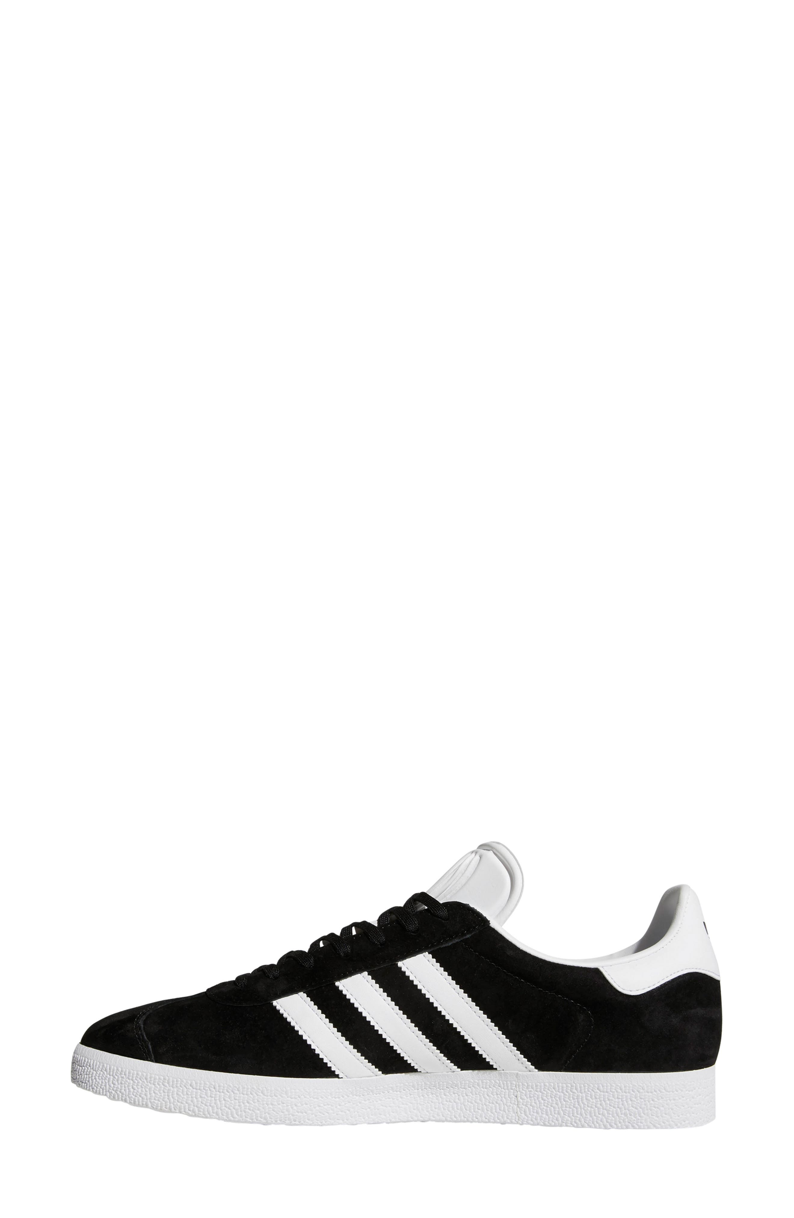 ADIDAS, Gazelle Sneaker, Alternate thumbnail 7, color, 003