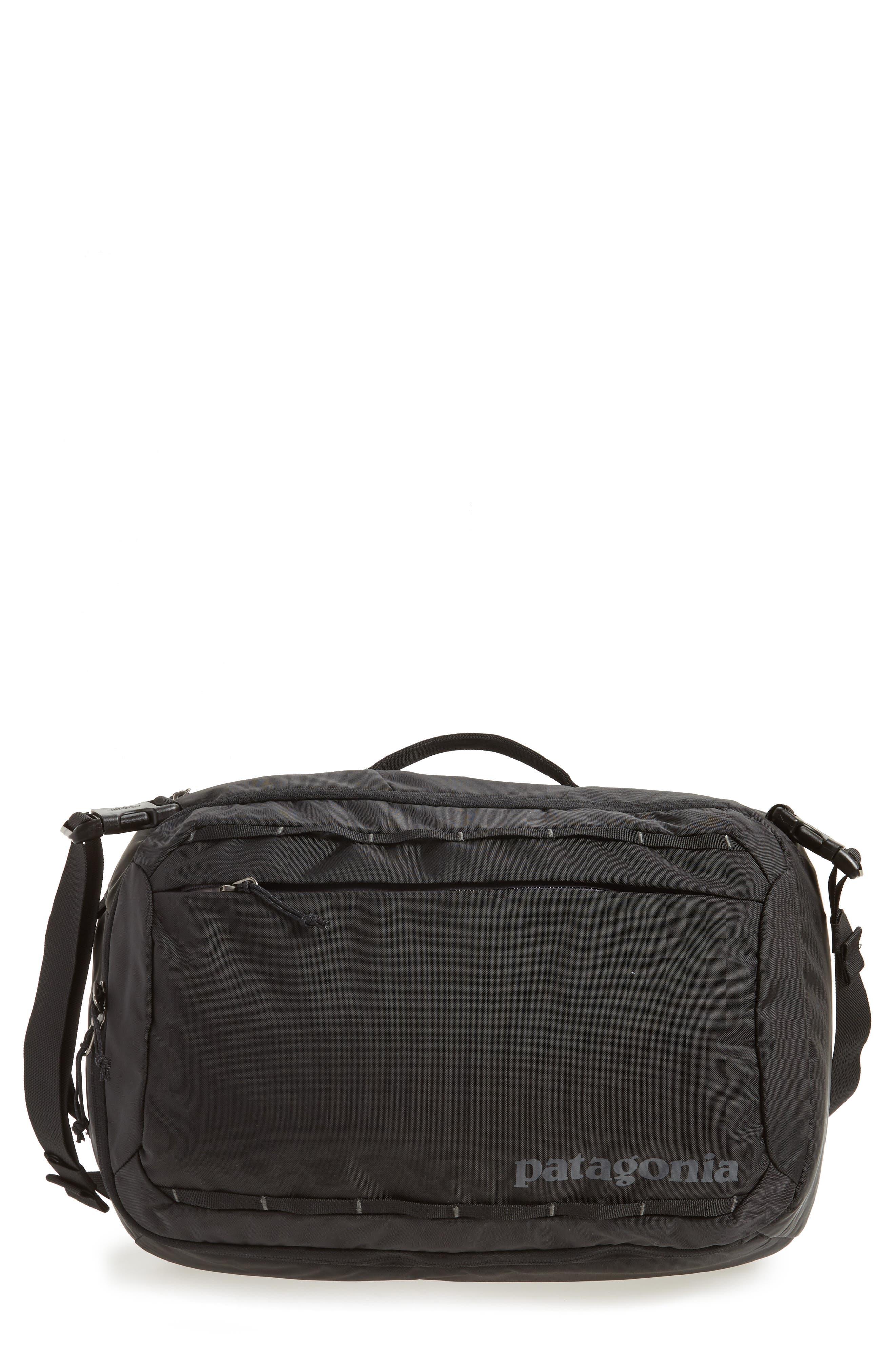 PATAGONIA, Tres 25-Liter Convertible Backpack, Main thumbnail 1, color, BLACK
