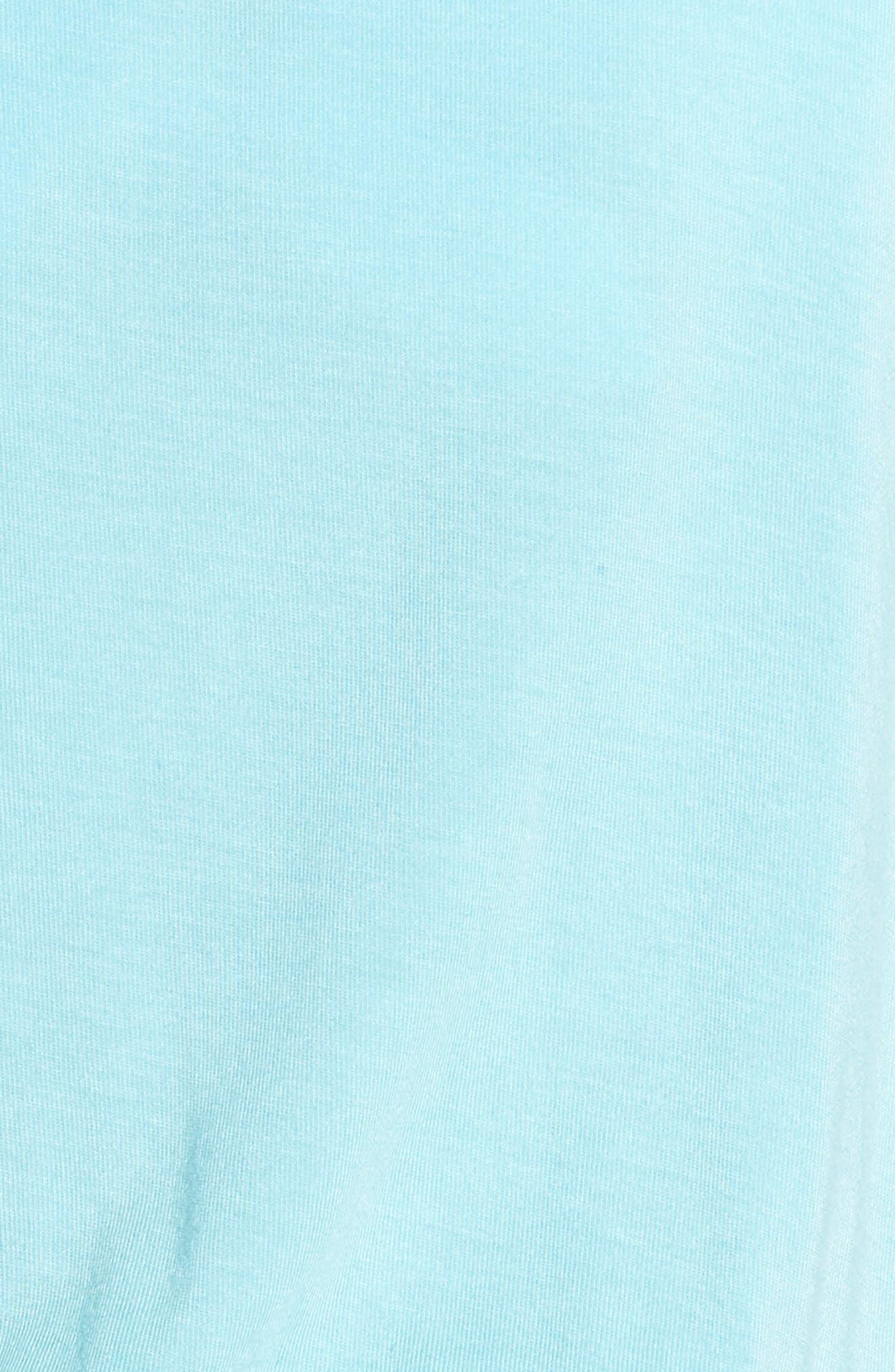 SOMETHING NAVY, Short & Sweet Romper, Alternate thumbnail 6, color, BLUE GULF
