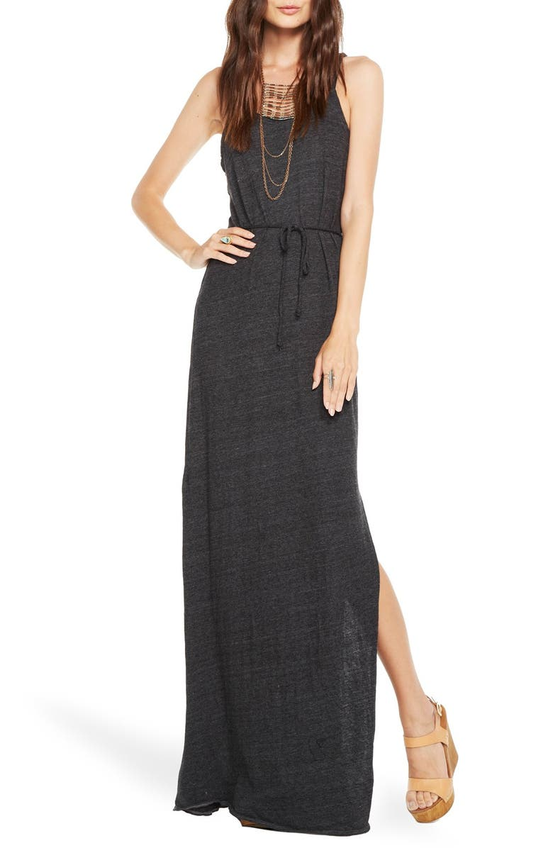 a5c11ea5e137f Chaser Braided Strap Open Back Maxi Dress | Nordstrom