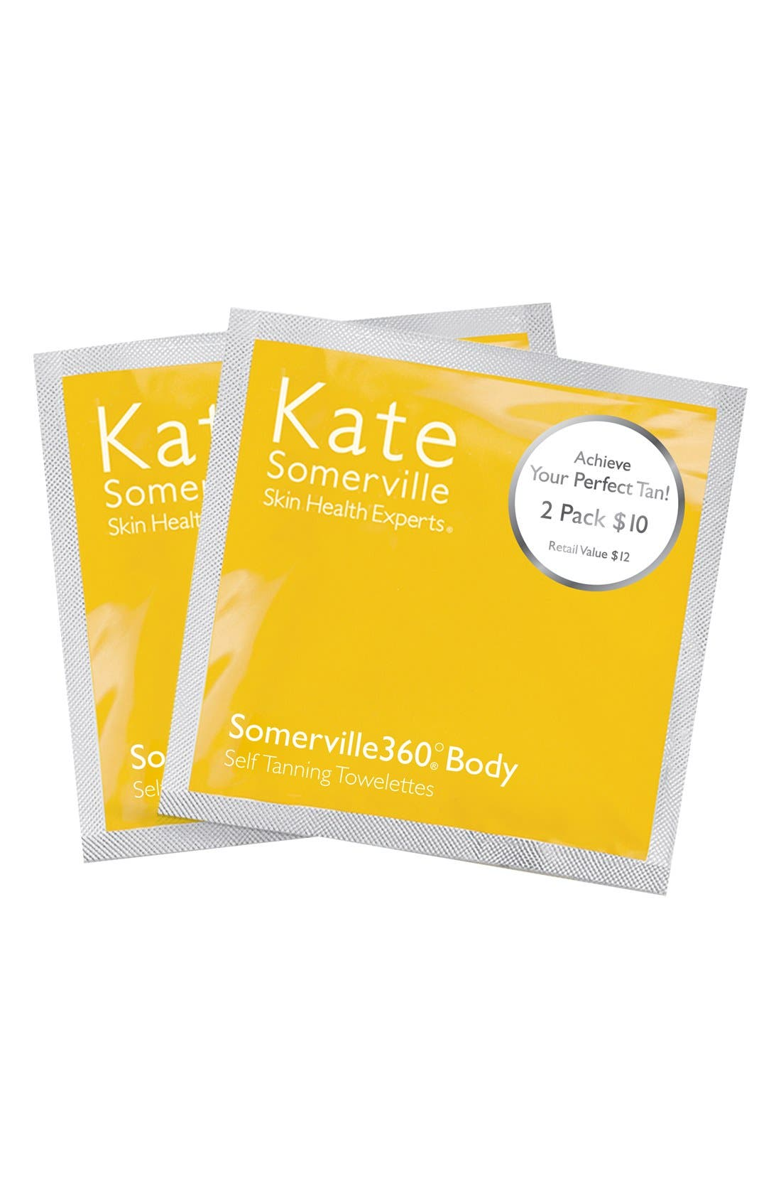 KATE SOMERVILLE<SUP>®</SUP>, 'Somerville360°' Tanning Towelettes, Alternate thumbnail 3, color, NO COLOR