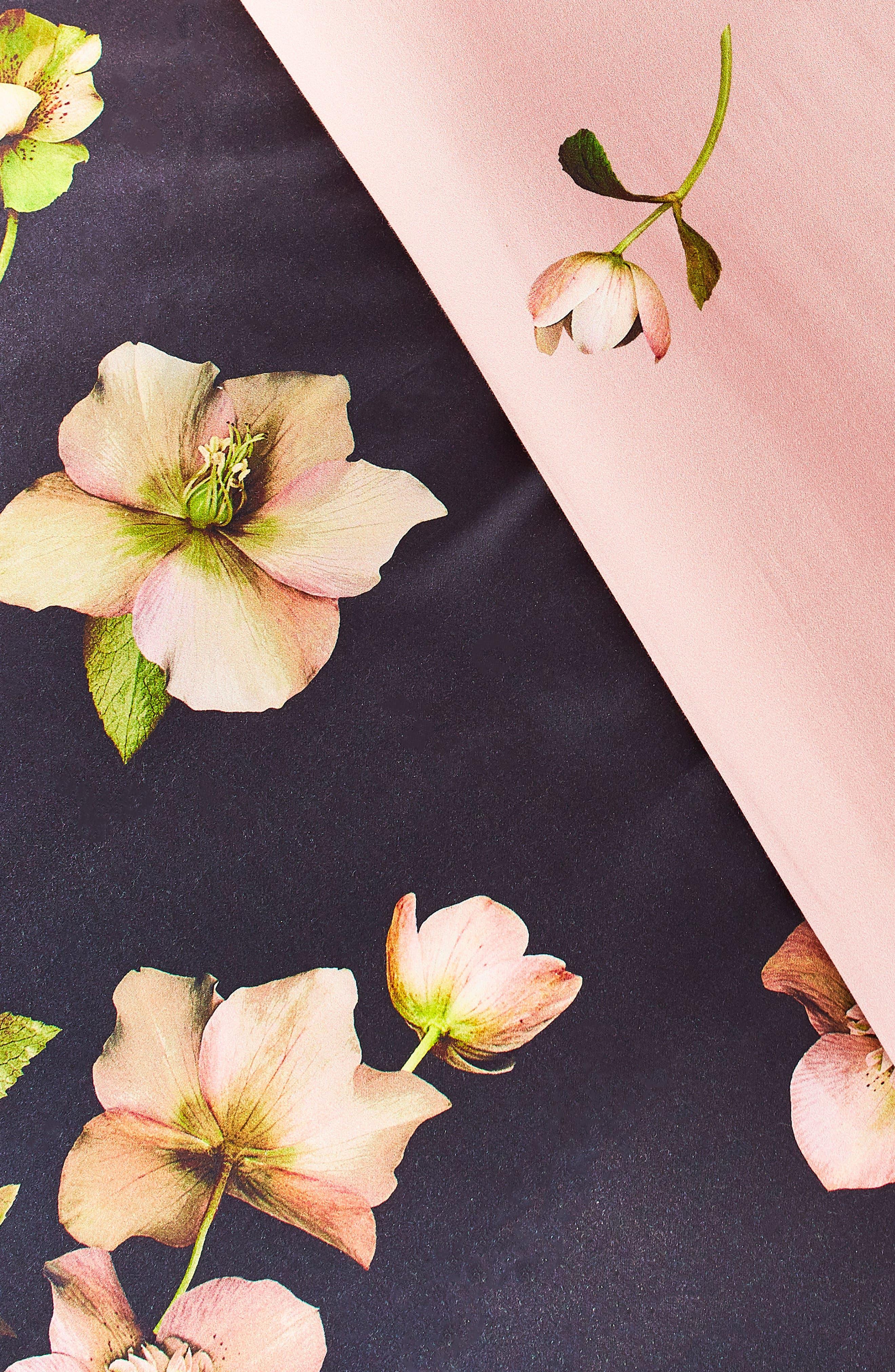 TED BAKER LONDON, Arboretum Comforter & Sham Set, Alternate thumbnail 2, color, NAVY