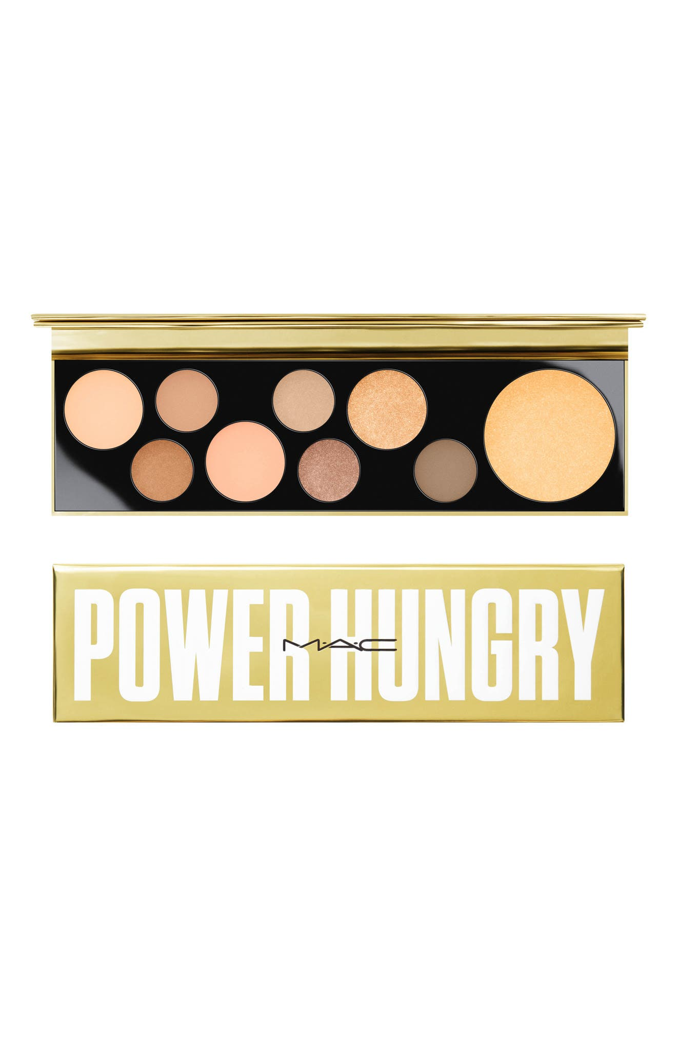 MAC COSMETICS, MAC Girls Power Hungry Palette, Alternate thumbnail 5, color, POWER HUNGRY