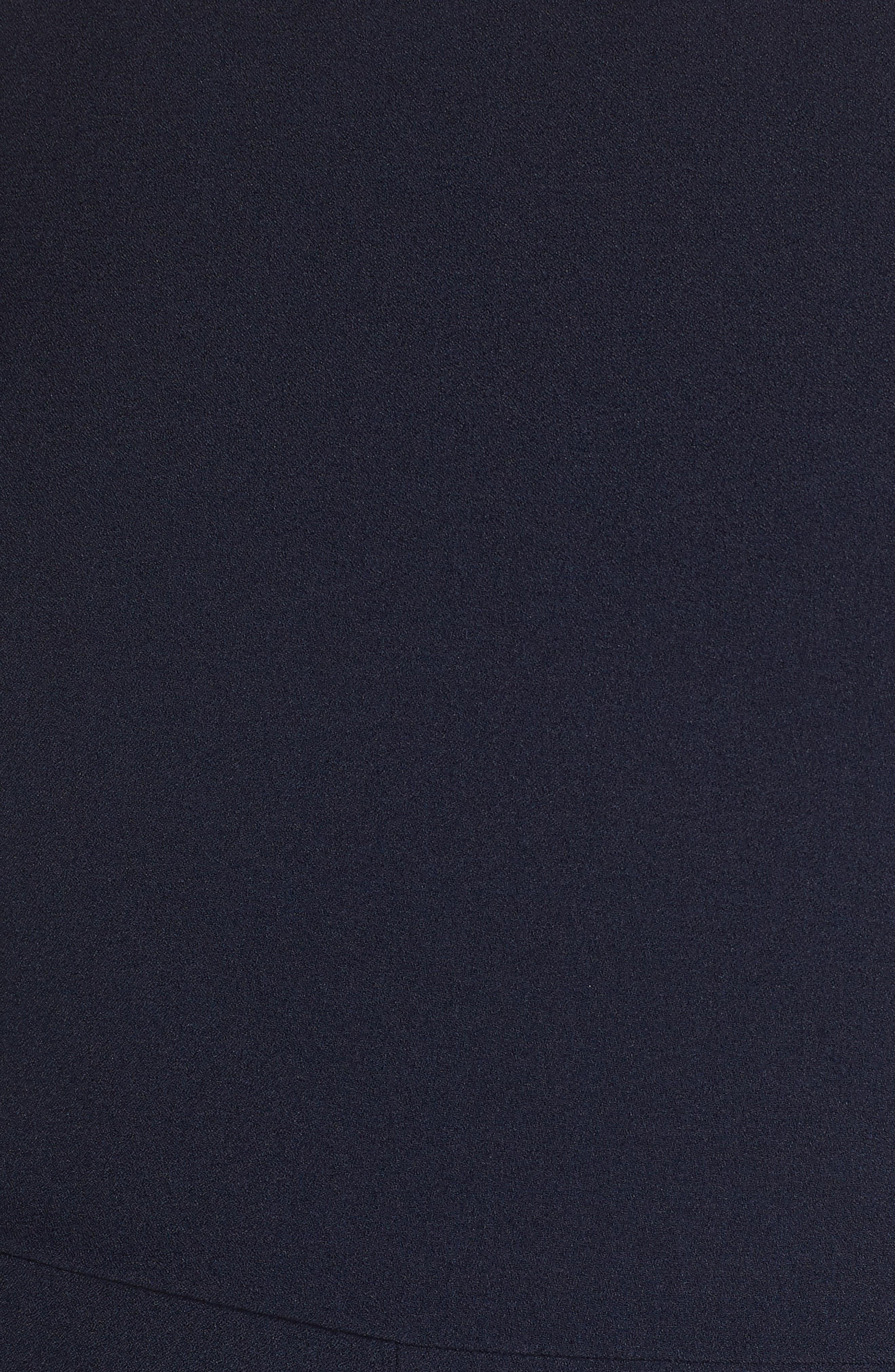 CHELSEA28, Pleat Shoulder Crop Jumpsuit, Alternate thumbnail 6, color, 401