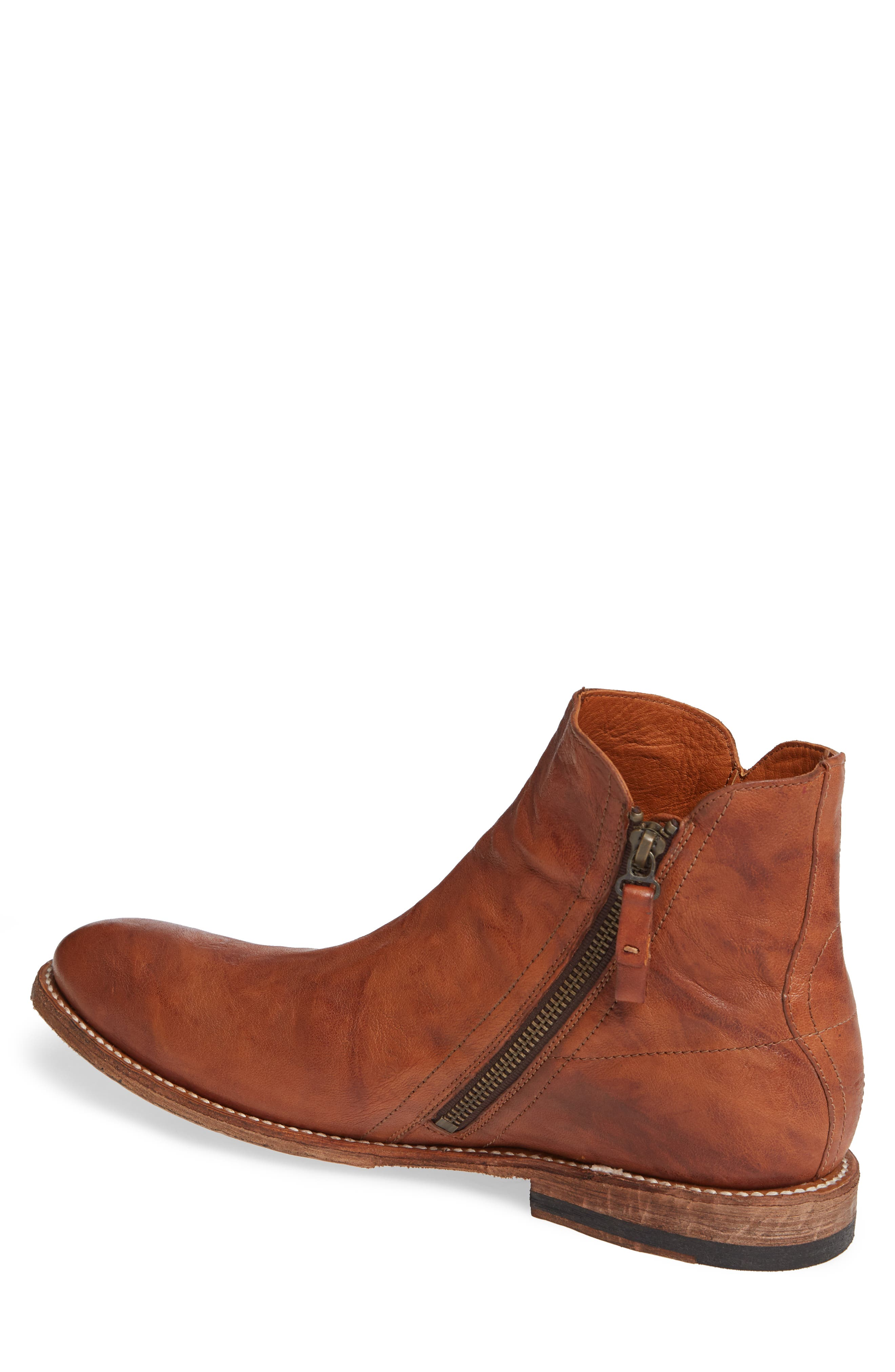 TWO24, by Ariat Lockwood Zip Boot, Alternate thumbnail 2, color, COGNAC LEATHER