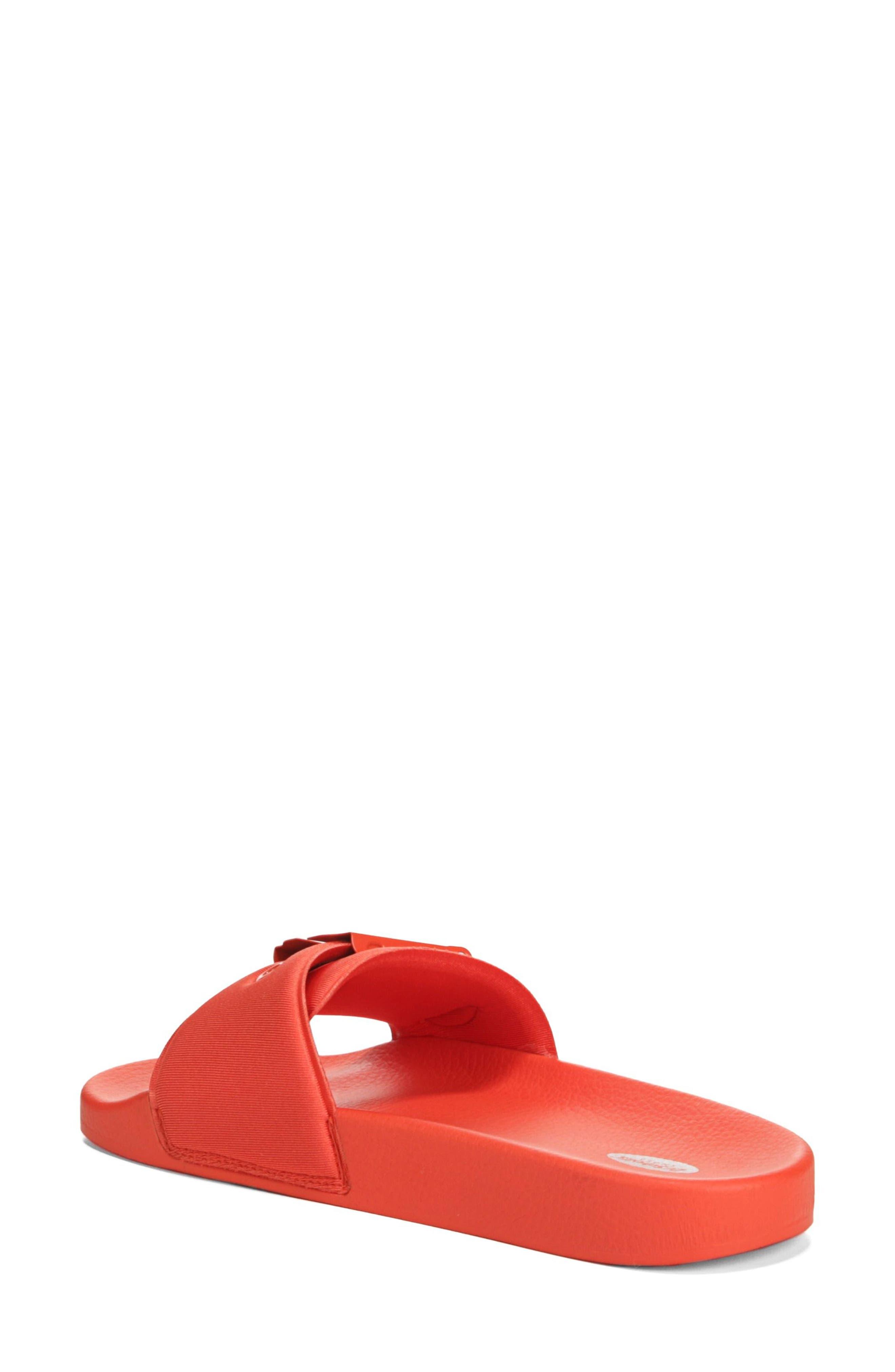 DR. SCHOLL'S, Original Pool Slide Sandal, Alternate thumbnail 2, color, TIGER LILY