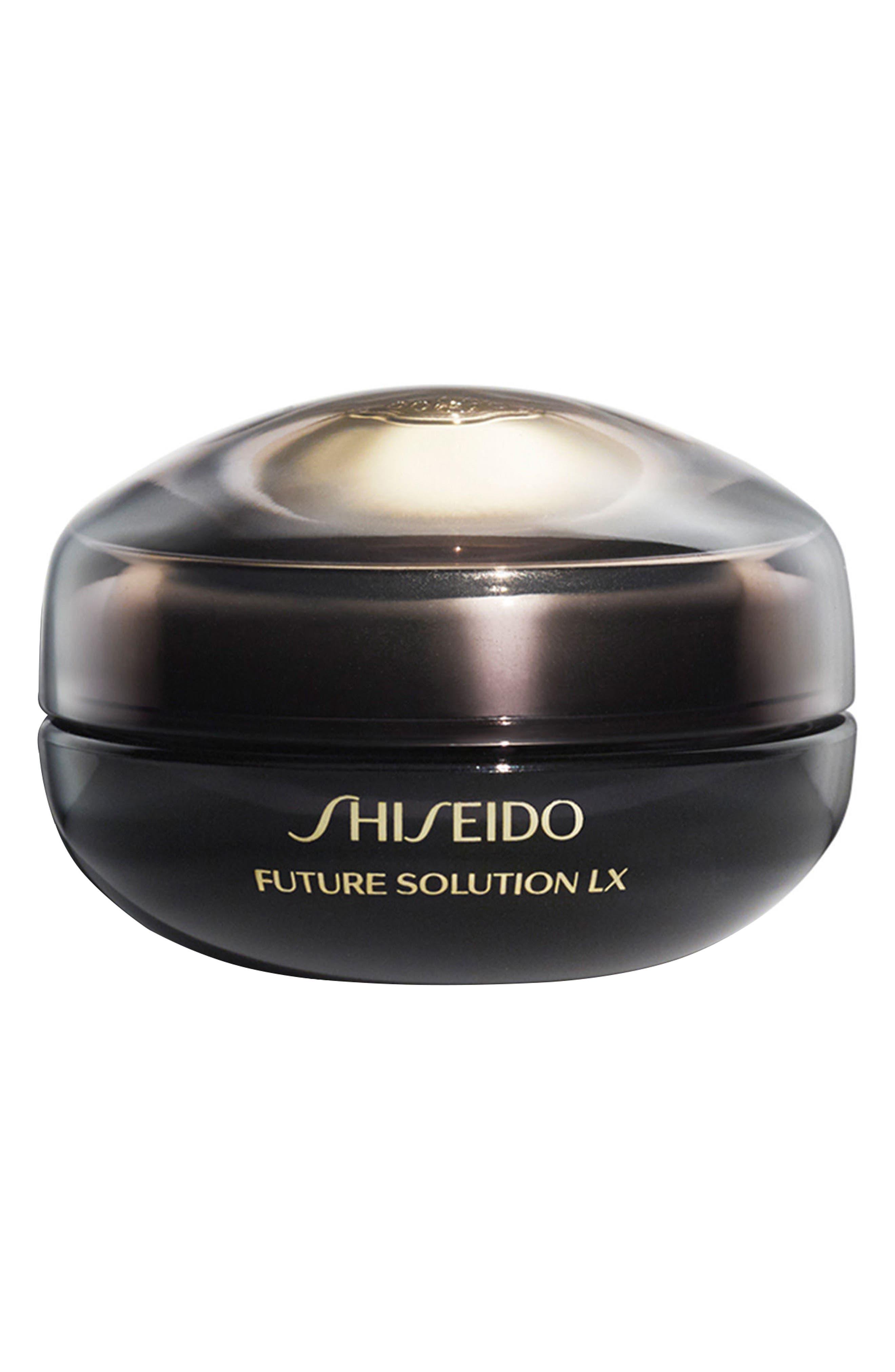 SHISEIDO, Future Solution LX Eye & Lip Contour Regenerating Cream, Main thumbnail 1, color, NO COLOR