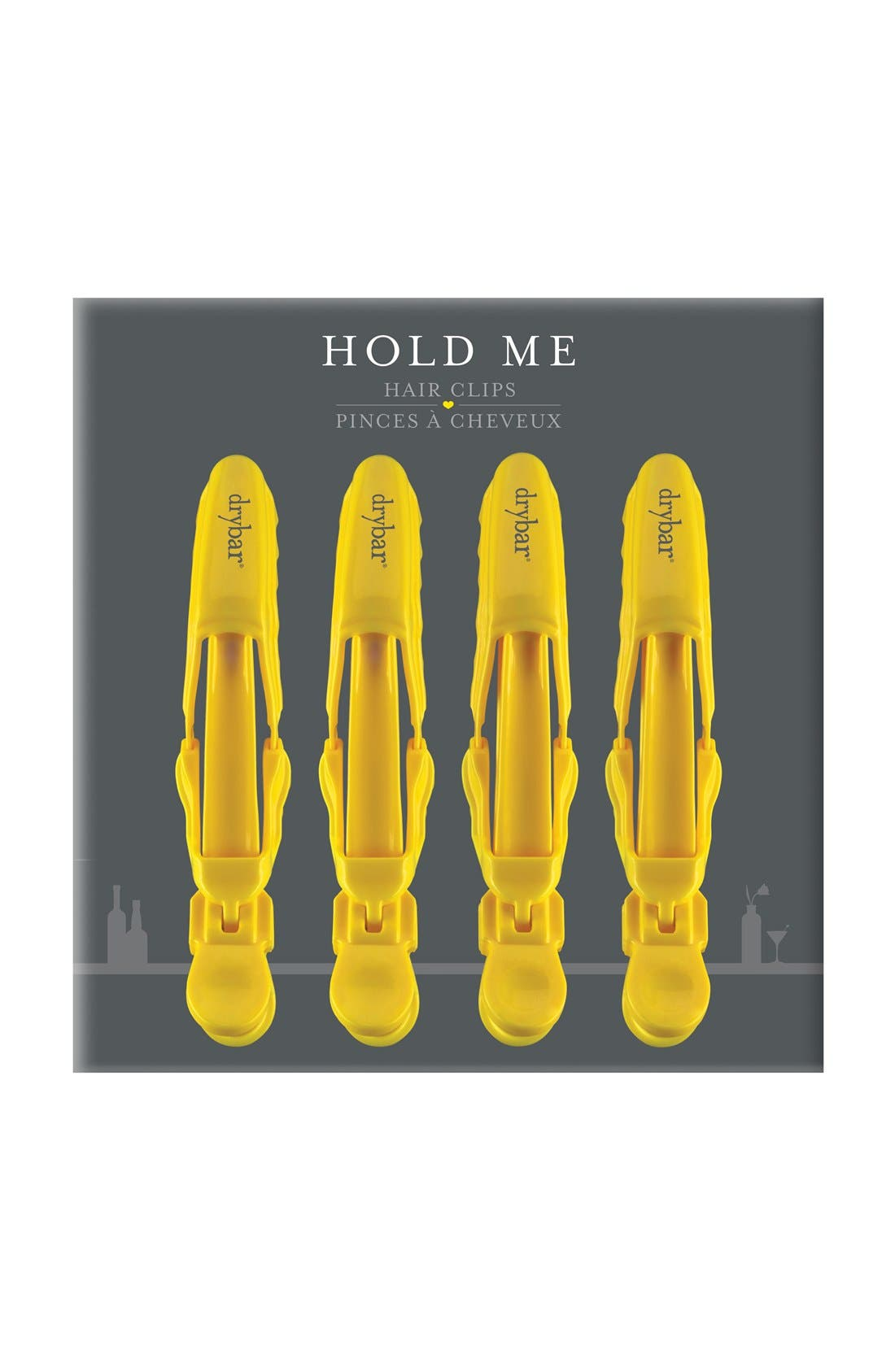 DRYBAR, Hold Me Hair Clips, Alternate thumbnail 2, color, NO COLOR