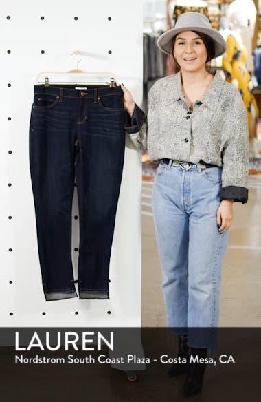 Raw Step Hem Slim Ankle Jeans, sales video thumbnail