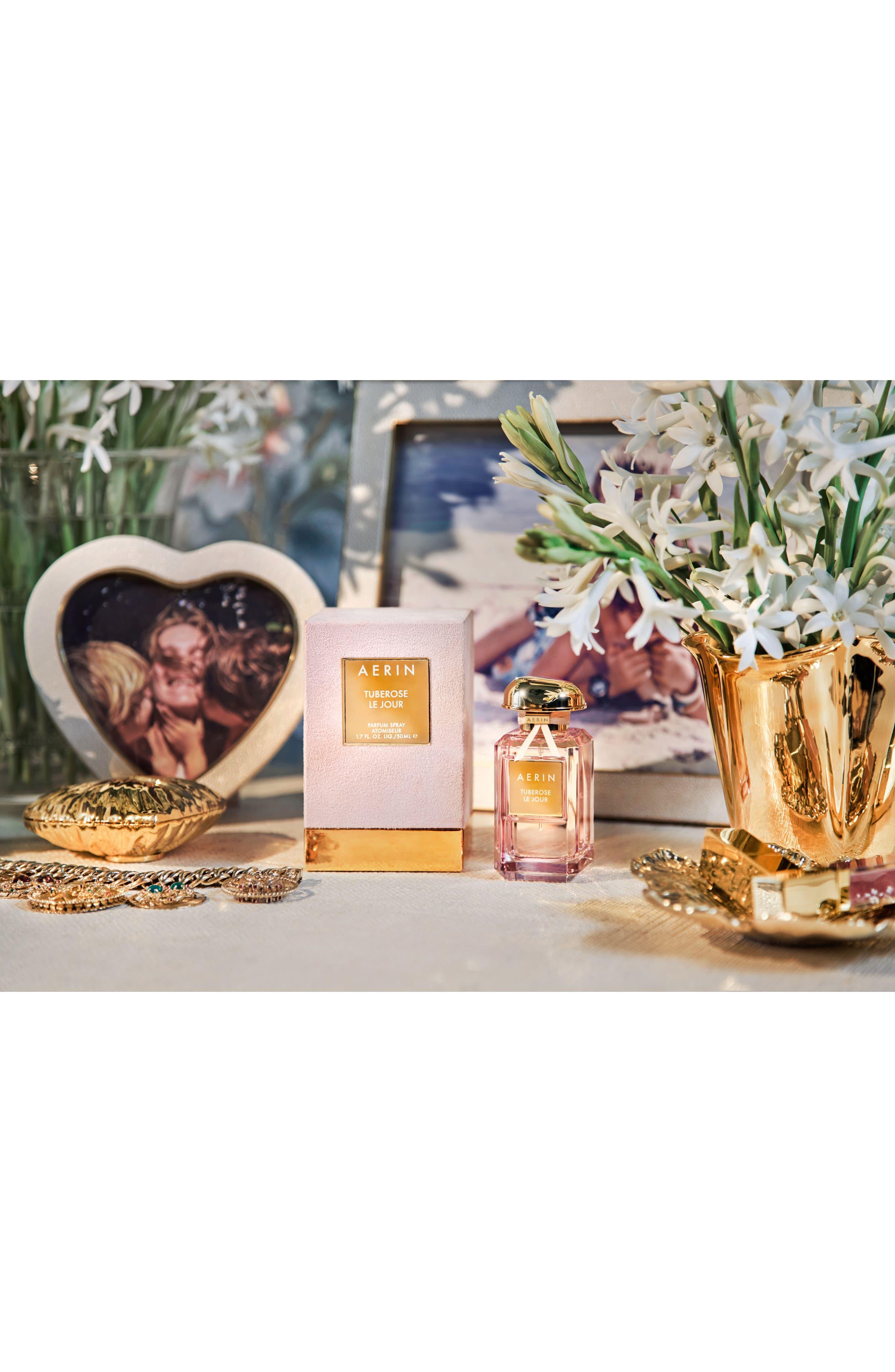 ESTÉE LAUDER, AERIN Beauty Tuberose Le Jour Parfum, Alternate thumbnail 4, color, NO COLOR