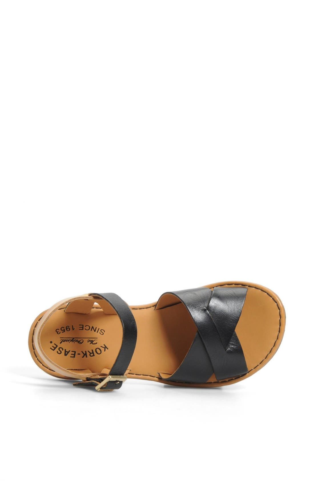 KORK-EASE<SUP>®</SUP>, 'Corine' Sandal, Alternate thumbnail 4, color, 002