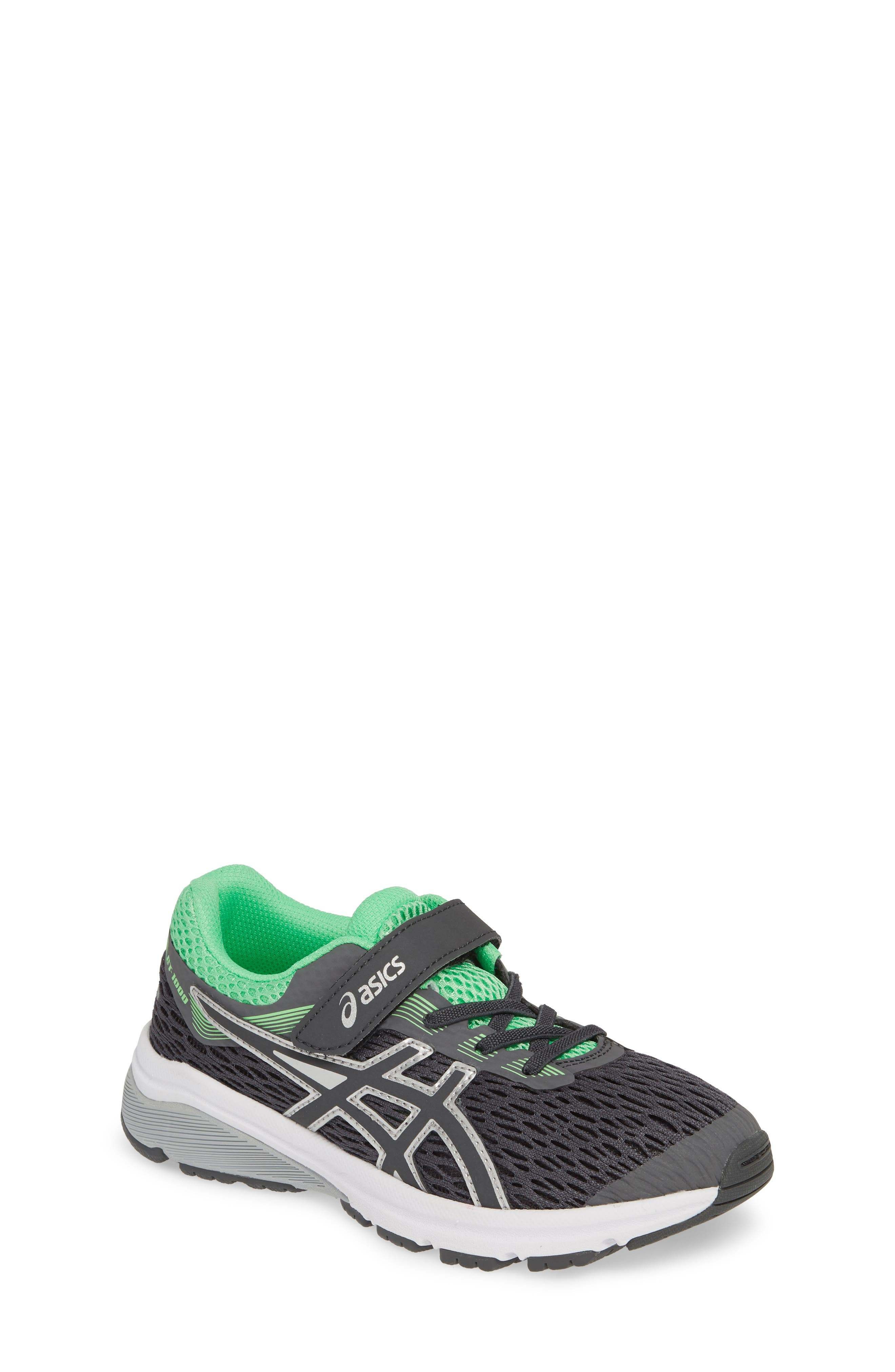 ASICS<SUP>®</SUP>, GT 1000 7 Running Shoe, Main thumbnail 1, color, DARK GREY/ DARK GREY