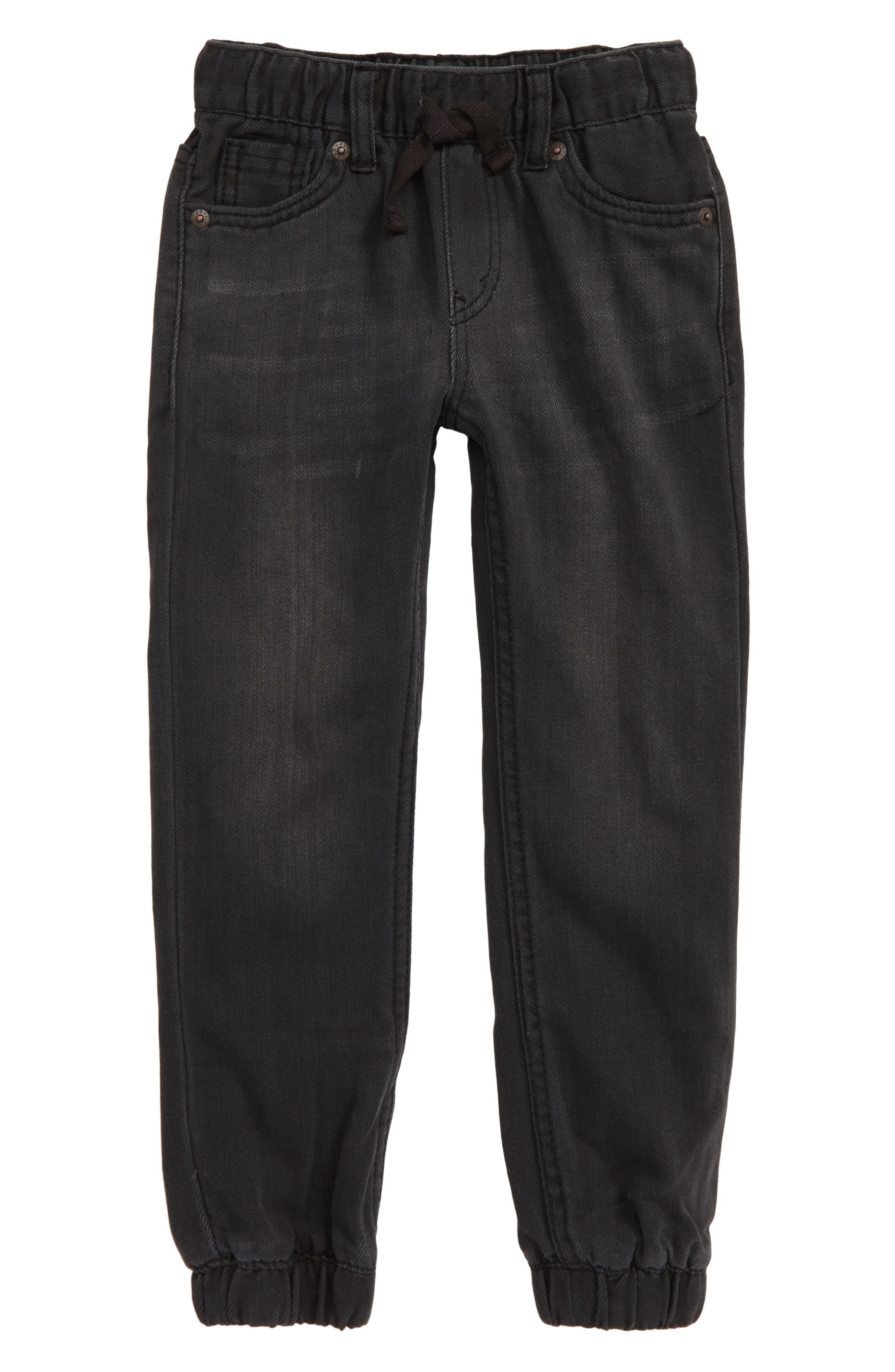 LEVI'S<SUP>®</SUP>, Denim Jogger Pants, Main thumbnail 1, color, BACK TO BLACK