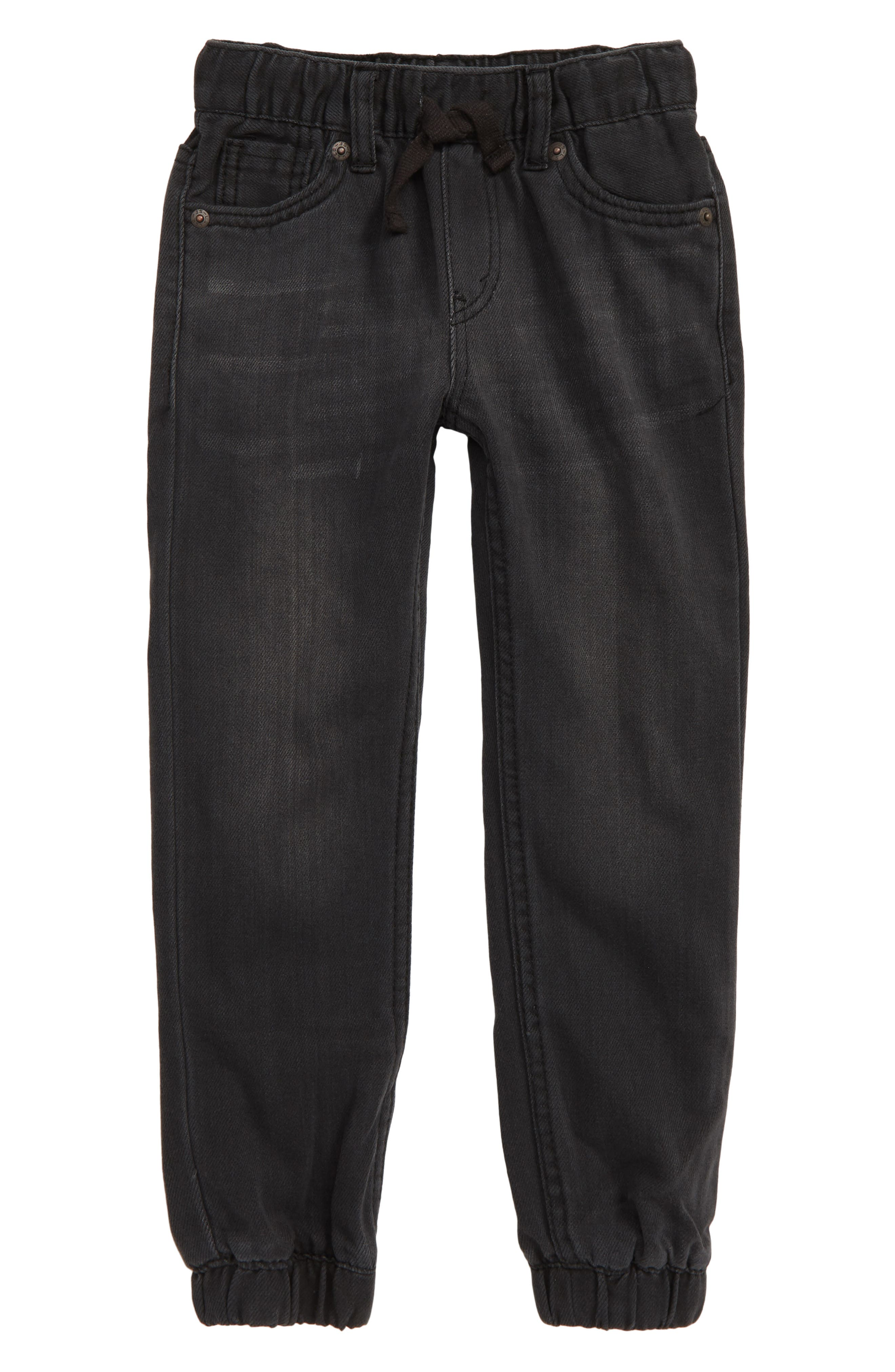 LEVI'S<SUP>®</SUP> Denim Jogger Pants, Main, color, BACK TO BLACK