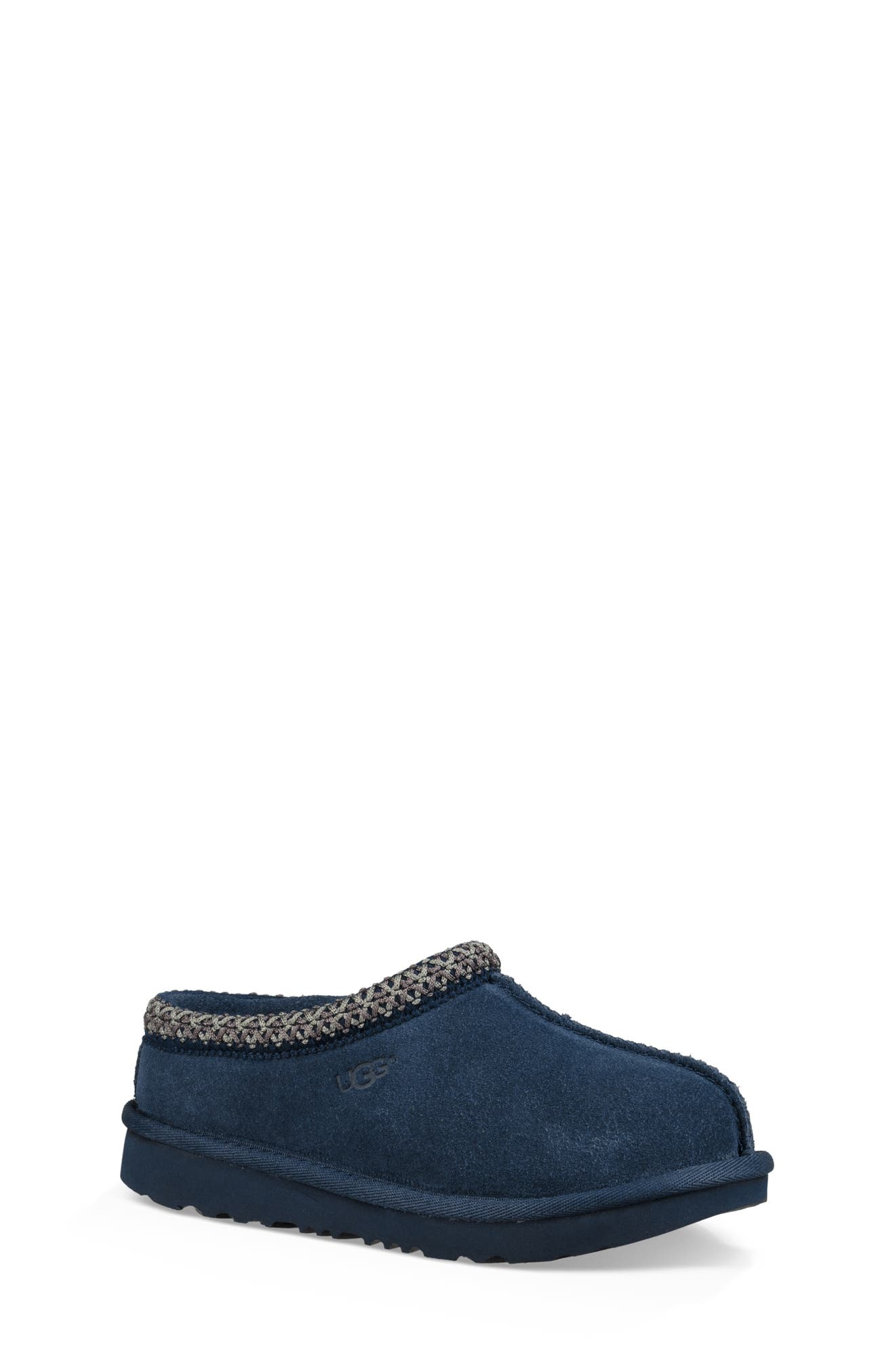 UGG<SUP>®</SUP>, K-Tasman II Embroidered Slipper, Main thumbnail 1, color, NEW NAVY