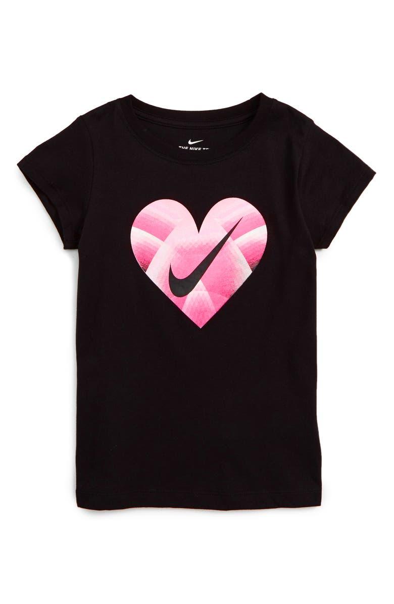 e5910a2fb Nike Gradient Heart Logo Tee (Toddler Girls & Little Girls) | Nordstrom