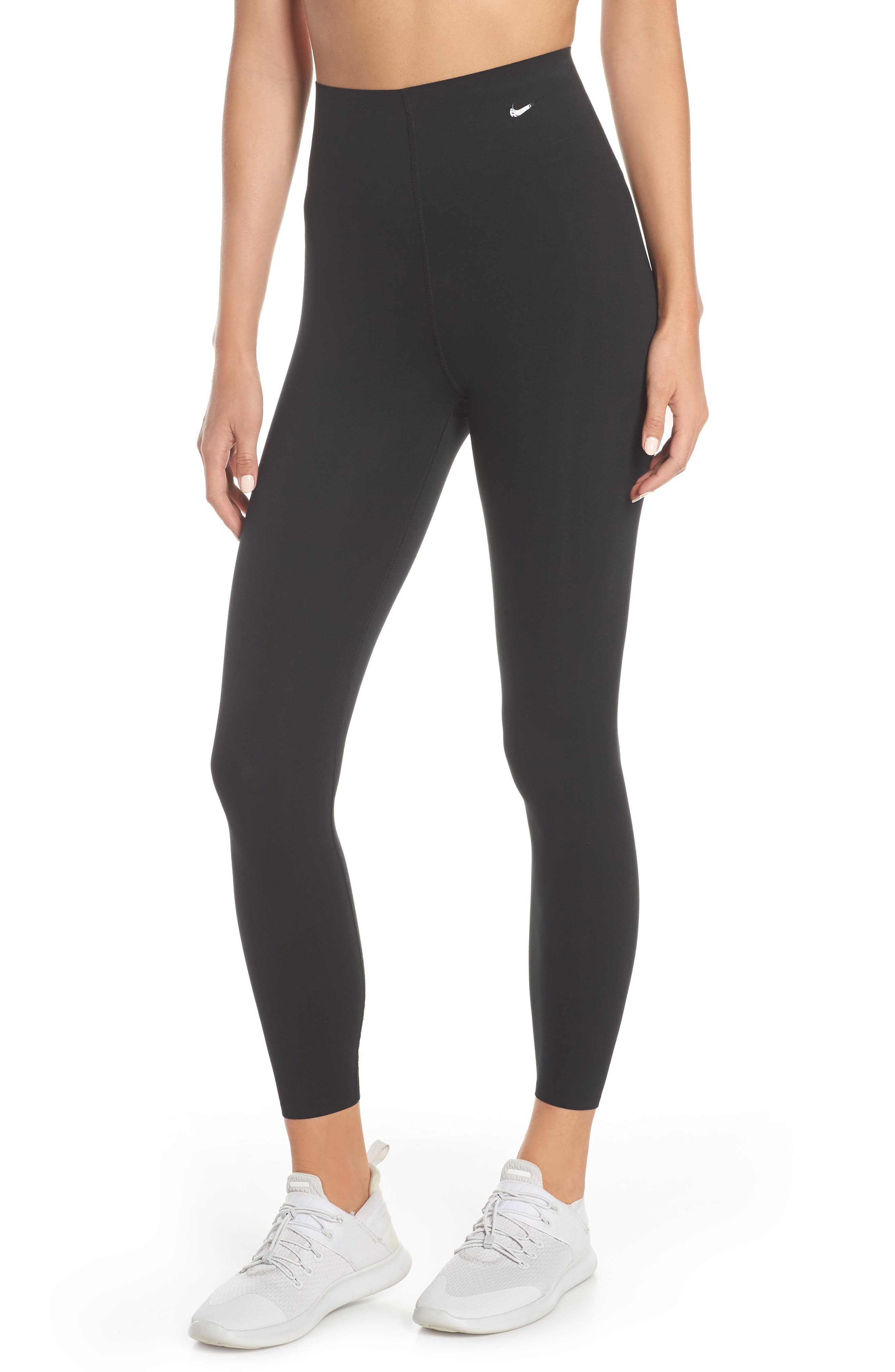 NIKE Dry Sculpt Lux Tights, Main, color, BLACK/ CLEAR
