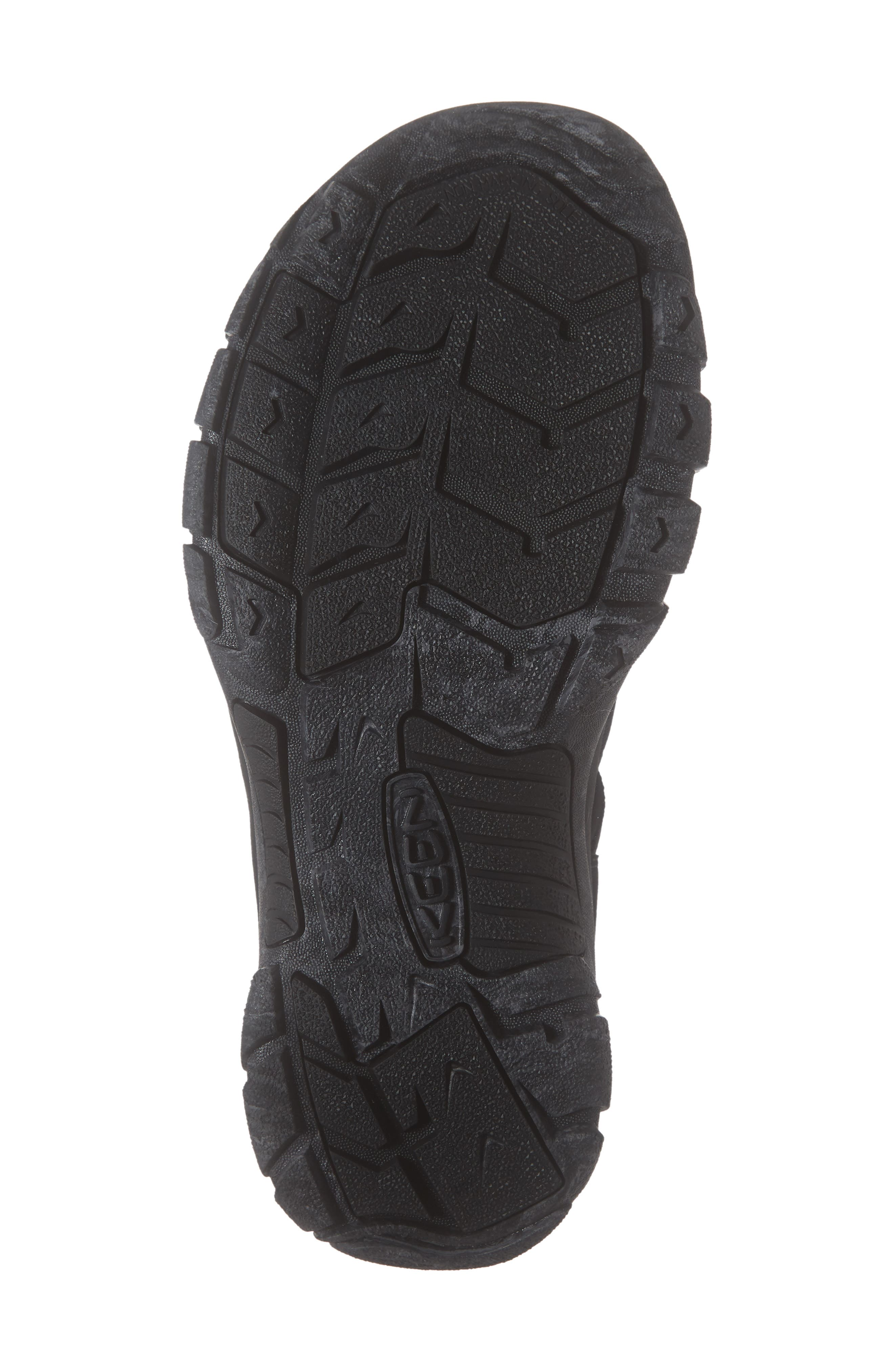 KEEN, 'Newport H2' Sandal, Alternate thumbnail 6, color, BLACK/ SWIRL OUTSOLE