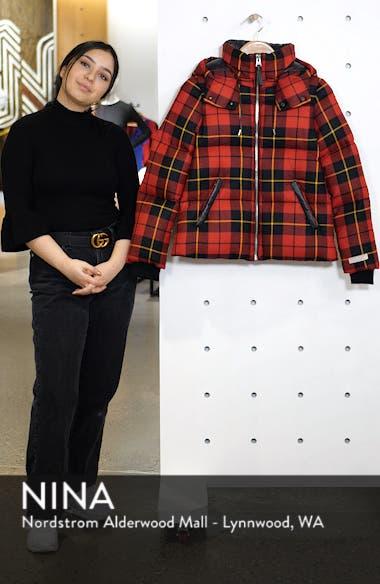 Miley Wool Down Puffer Jacket, sales video thumbnail