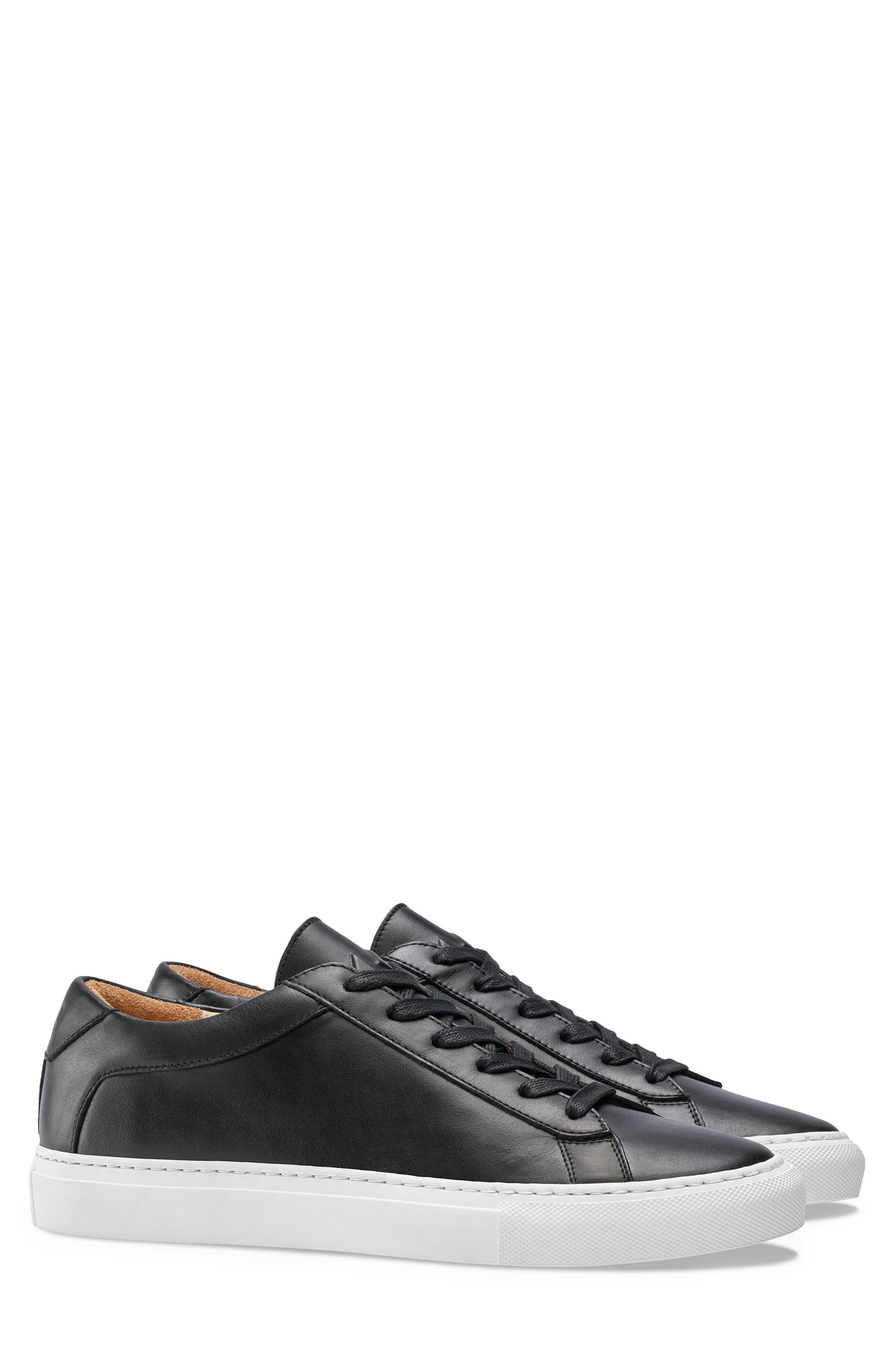 KOIO, Capri Sneaker, Main thumbnail 1, color, ONYX