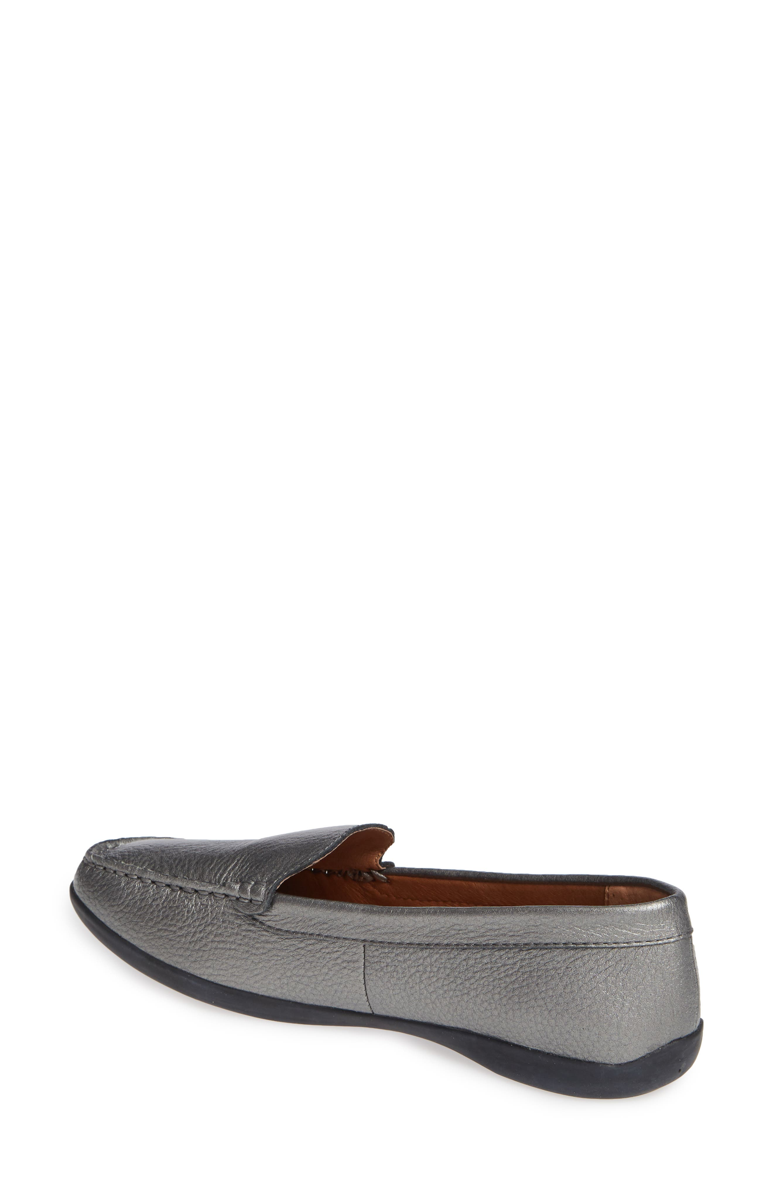 SUDINI, Laila Loafer, Alternate thumbnail 2, color, PEWTER FABRIC