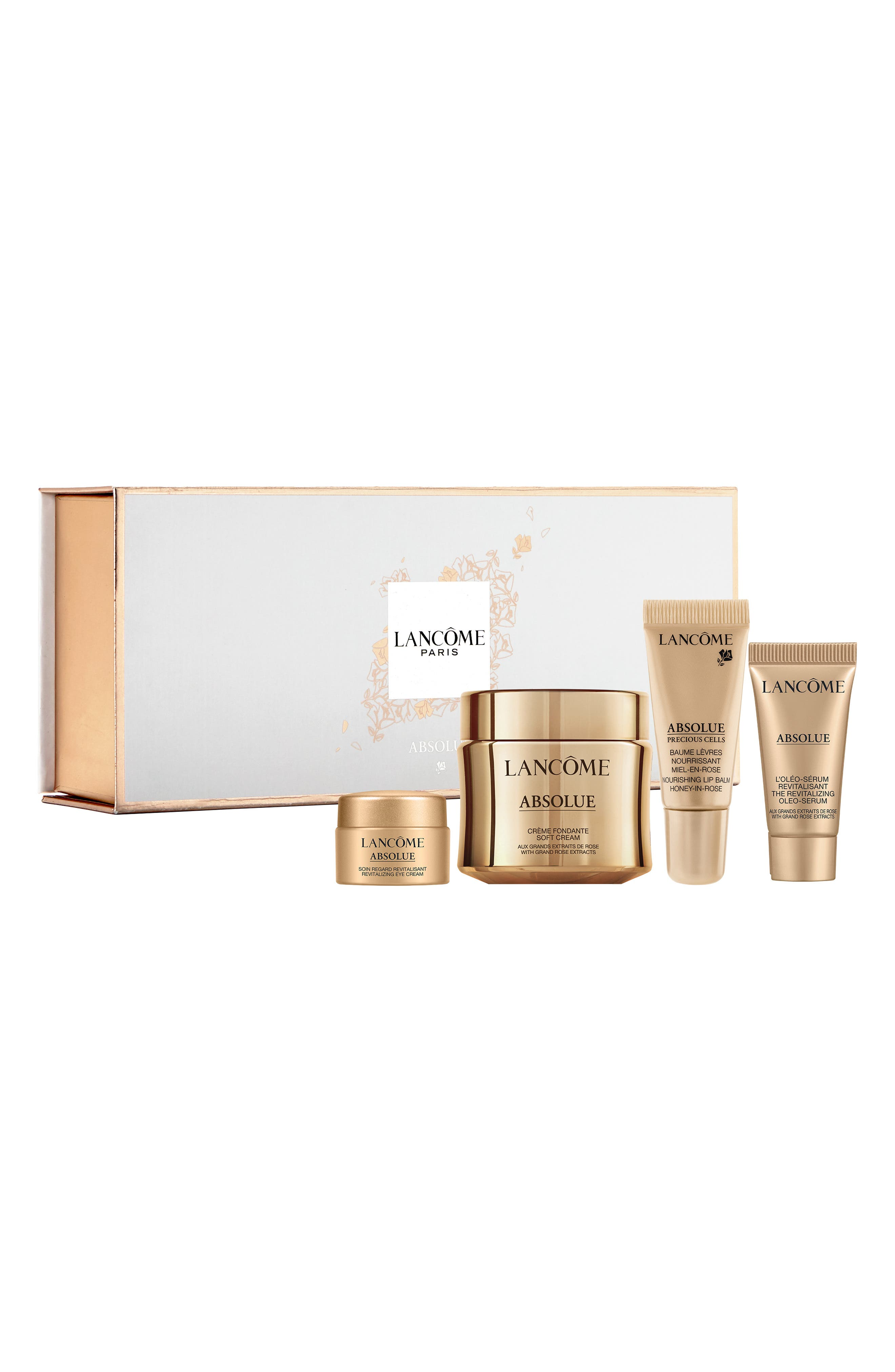 LANCÔME, Absolue Discovery Set, Alternate thumbnail 2, color, NO COLOR