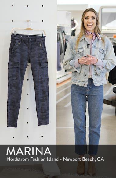 Juliette Camo Skinny Cargo Pants, sales video thumbnail