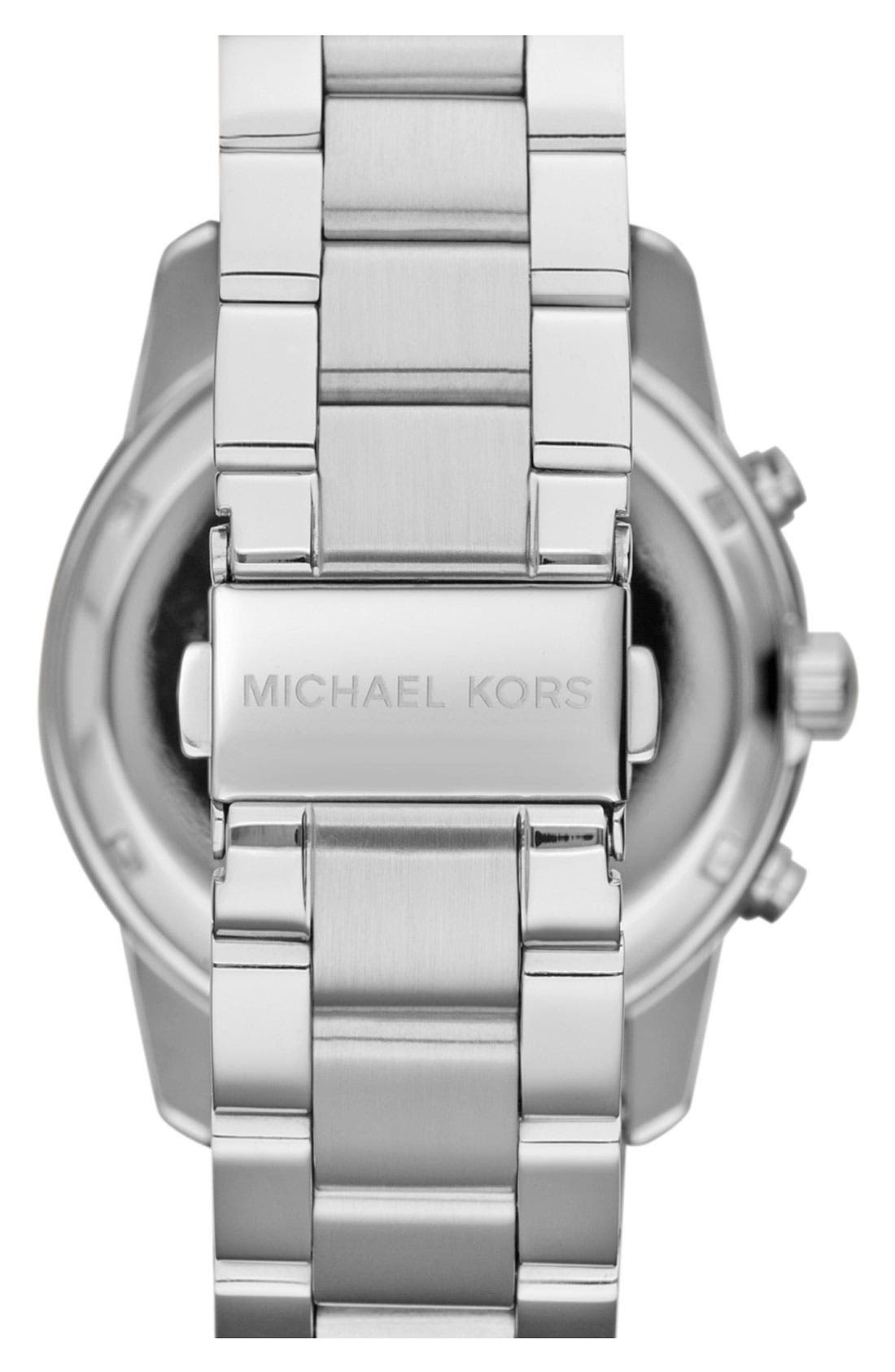 MICHAEL MICHAEL KORS, Michael Kors 'Mercer' Chronograph Bracelet Watch, 41mm, Alternate thumbnail 2, color, 040