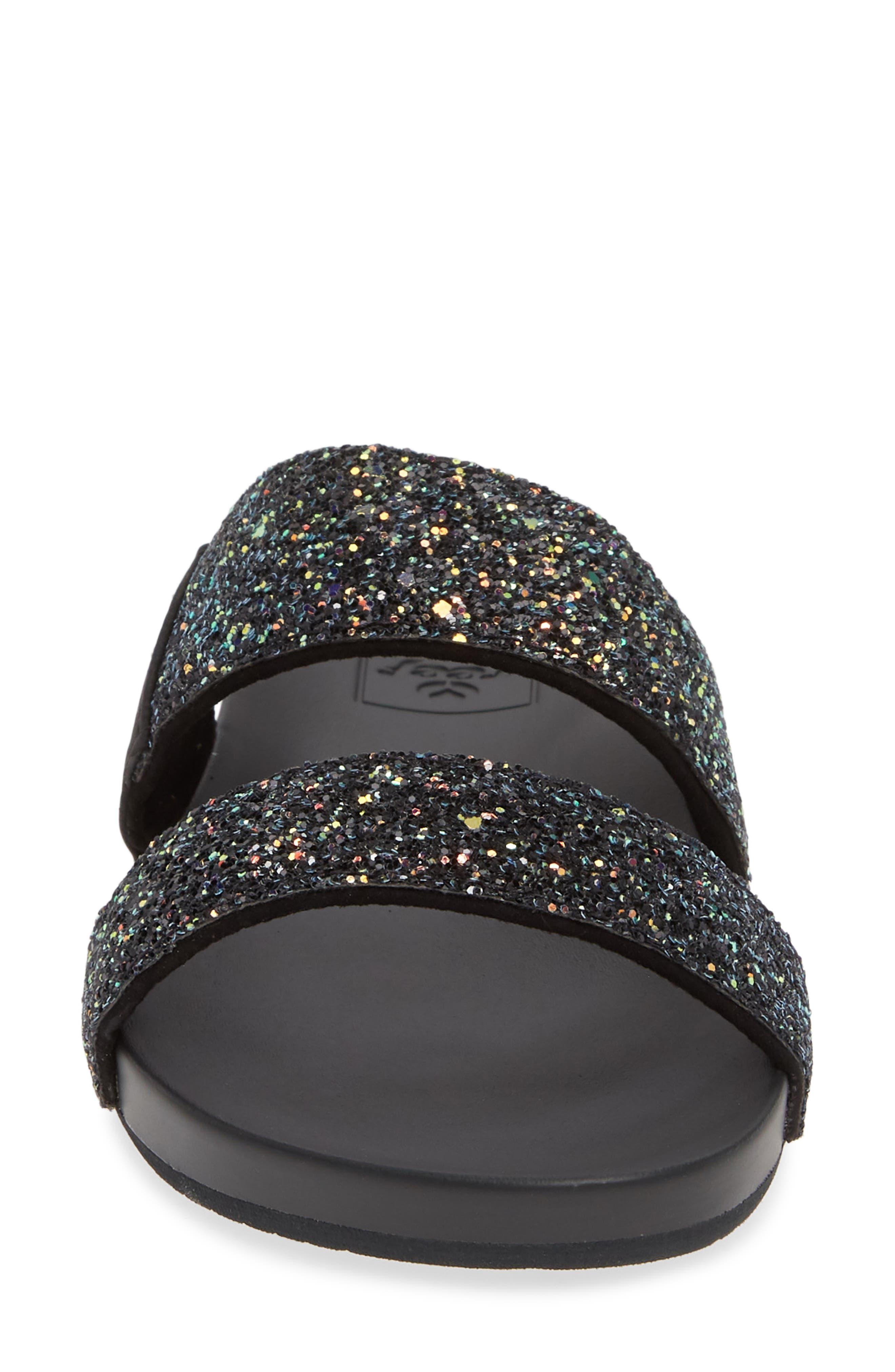 REEF, Cushion Bounce Vista Slide Sandal, Alternate thumbnail 4, color, POP ROCKS