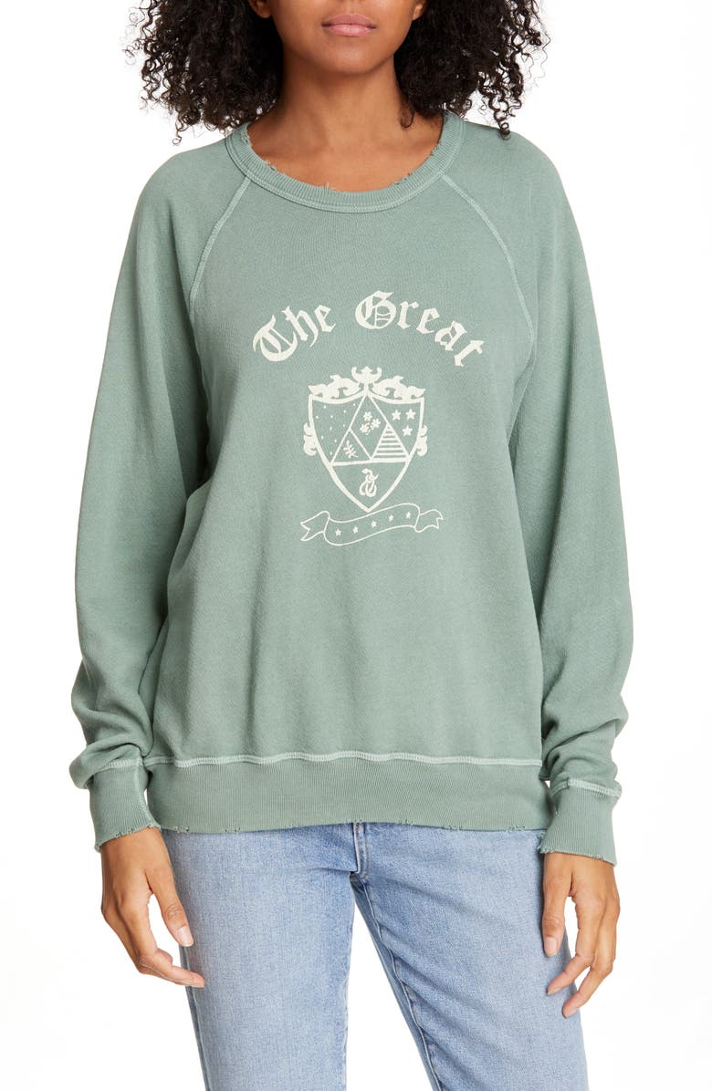 The Great T-shirts THE COLLEGE SWEATSHIRT