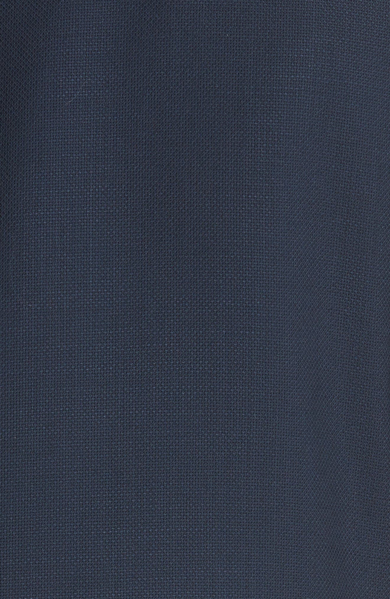 CANALI, Classic Fit Wool Blazer, Alternate thumbnail 6, color, NAVY
