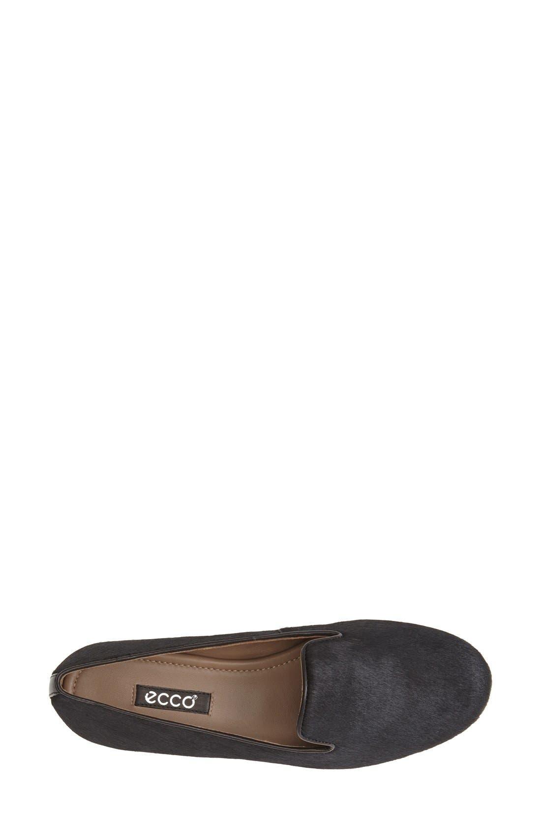 ECCO, 'Perth' Calf Hair Loafer, Alternate thumbnail 3, color, 006