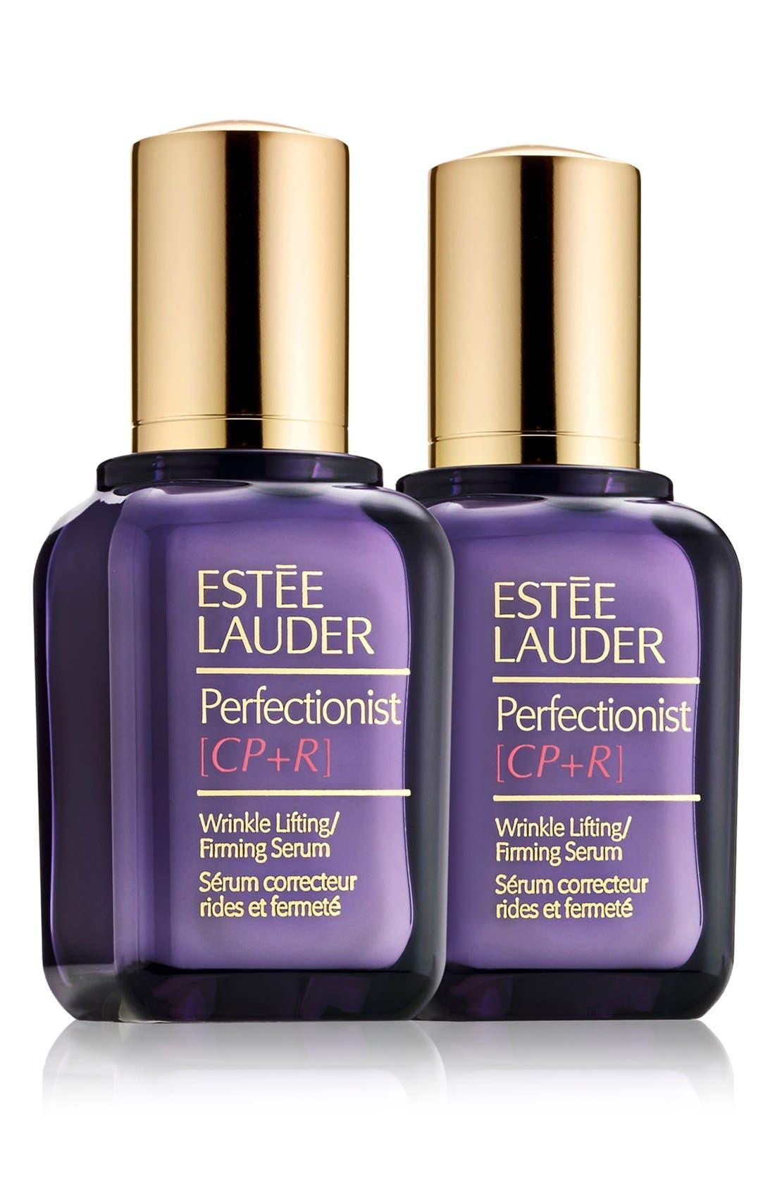 ESTÉE LAUDER Perfectionist [CP+R] Wrinkle Lifting/Firming Serum Duo, Main, color, NO COLOR