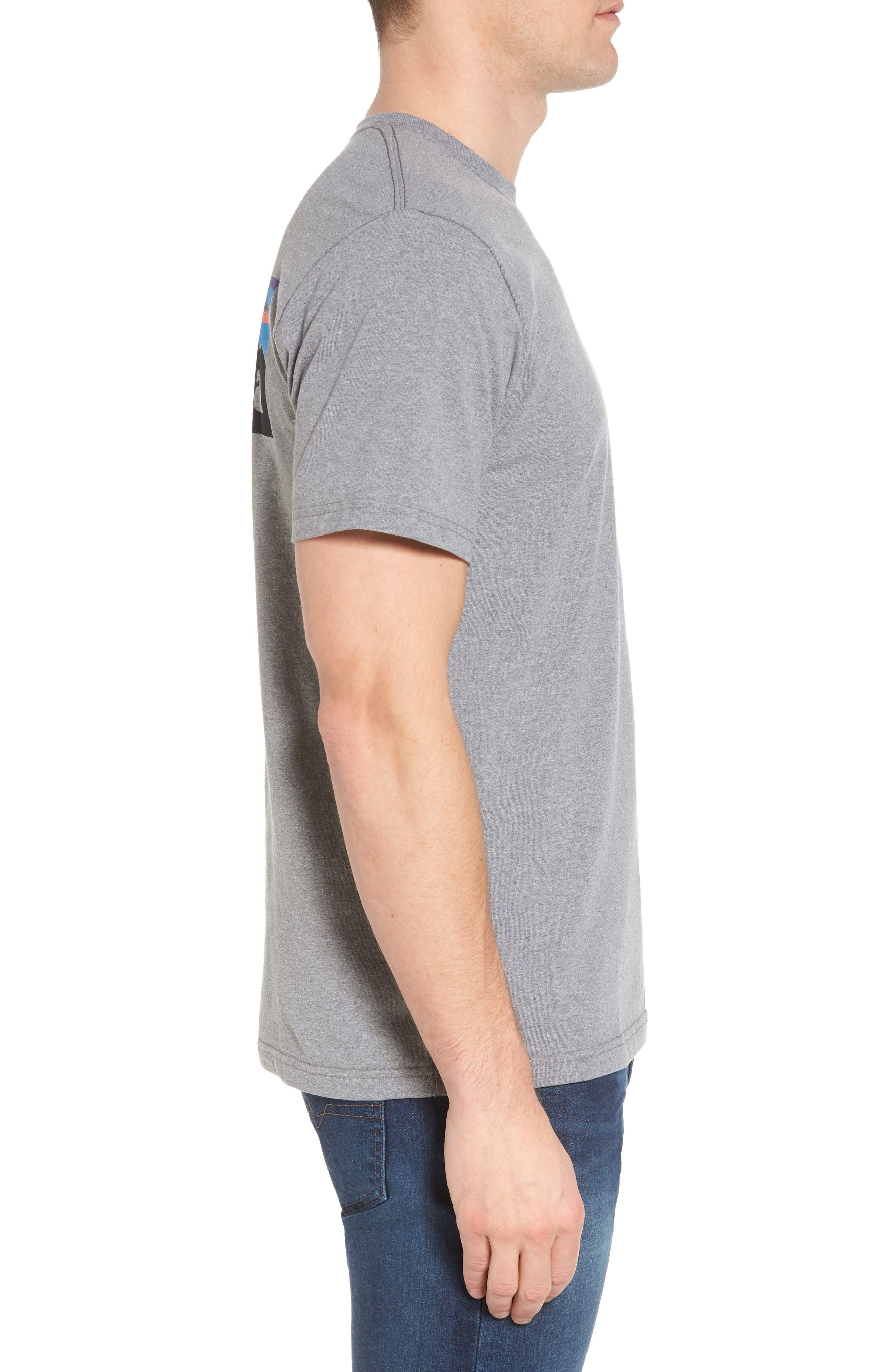 PATAGONIA, Responsibili-Tee T-Shirt, Alternate thumbnail 3, color, GRAVEL HEATHER