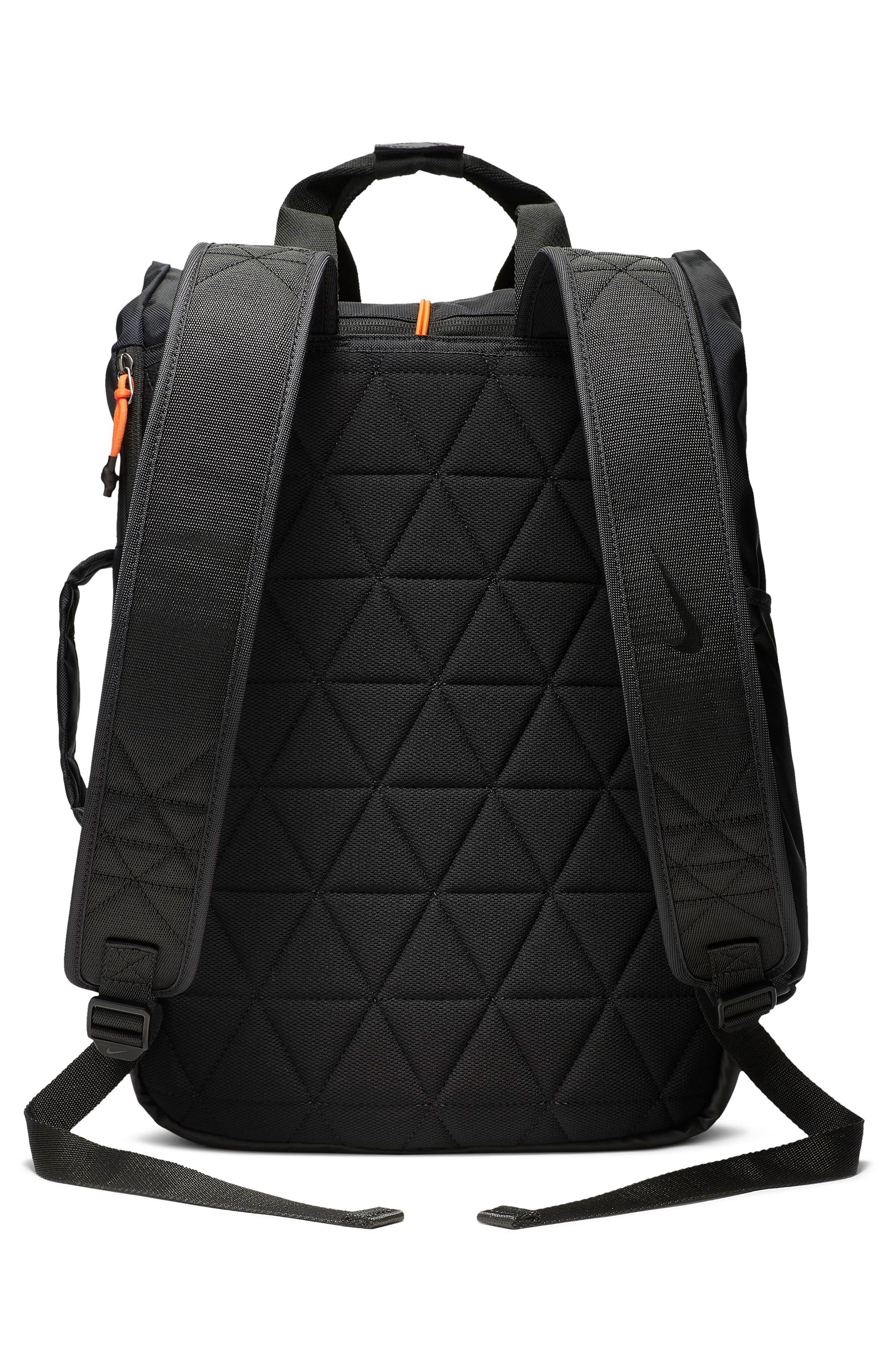 NIKE, Vapor Energy 2.0 Training Backpack, Alternate thumbnail 2, color, BLACK