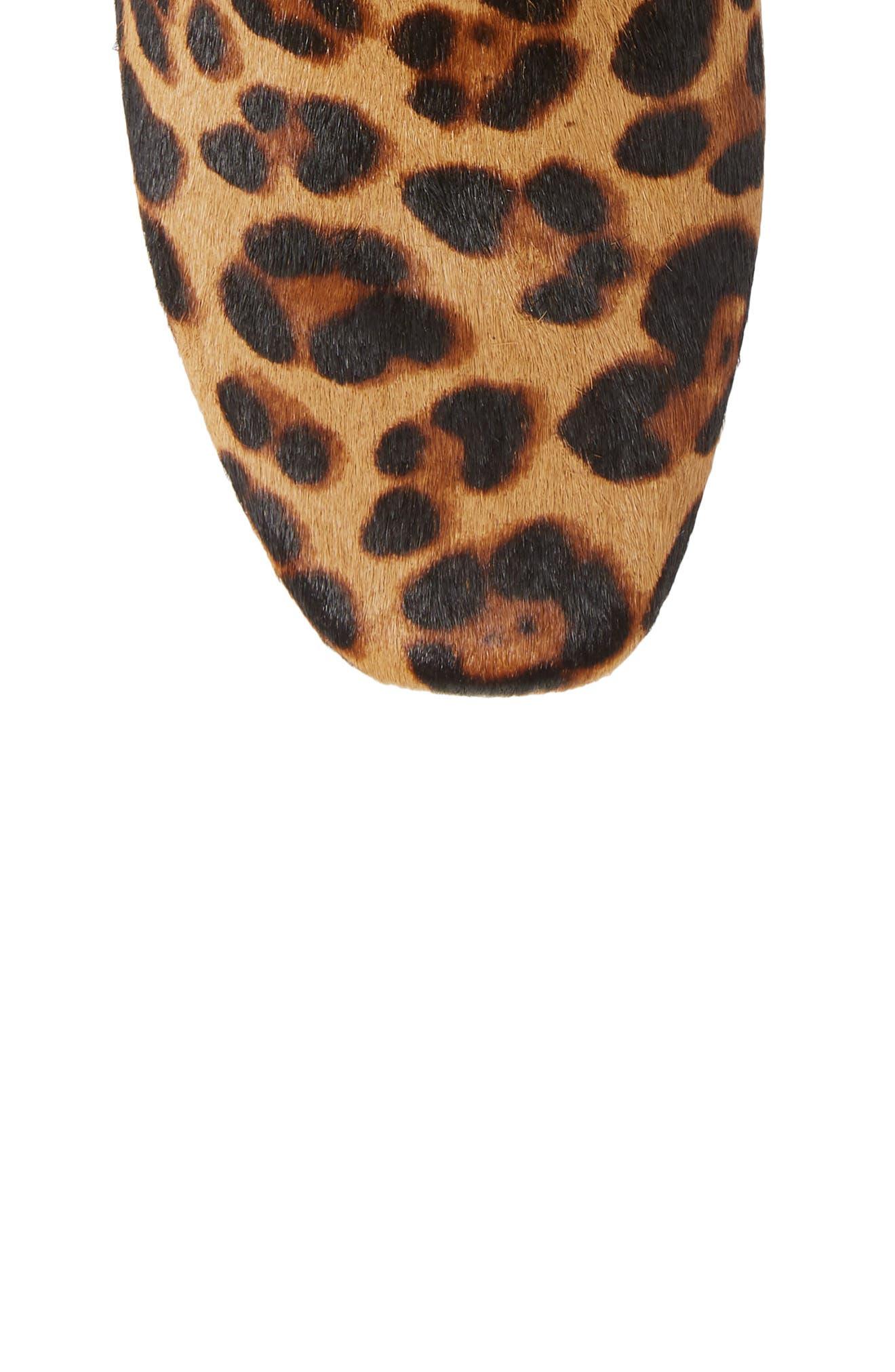 MADEWELL, The Jada Genuine Calf Hair Boot, Alternate thumbnail 5, color, 200