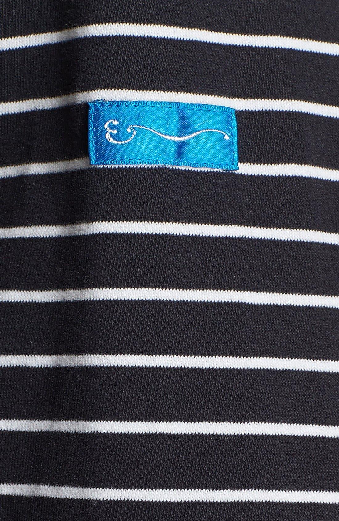 SHIPLEY & HALMOS, 'Spaniel' Stripe Long Sleeve T-Shirt, Alternate thumbnail 2, color, 414