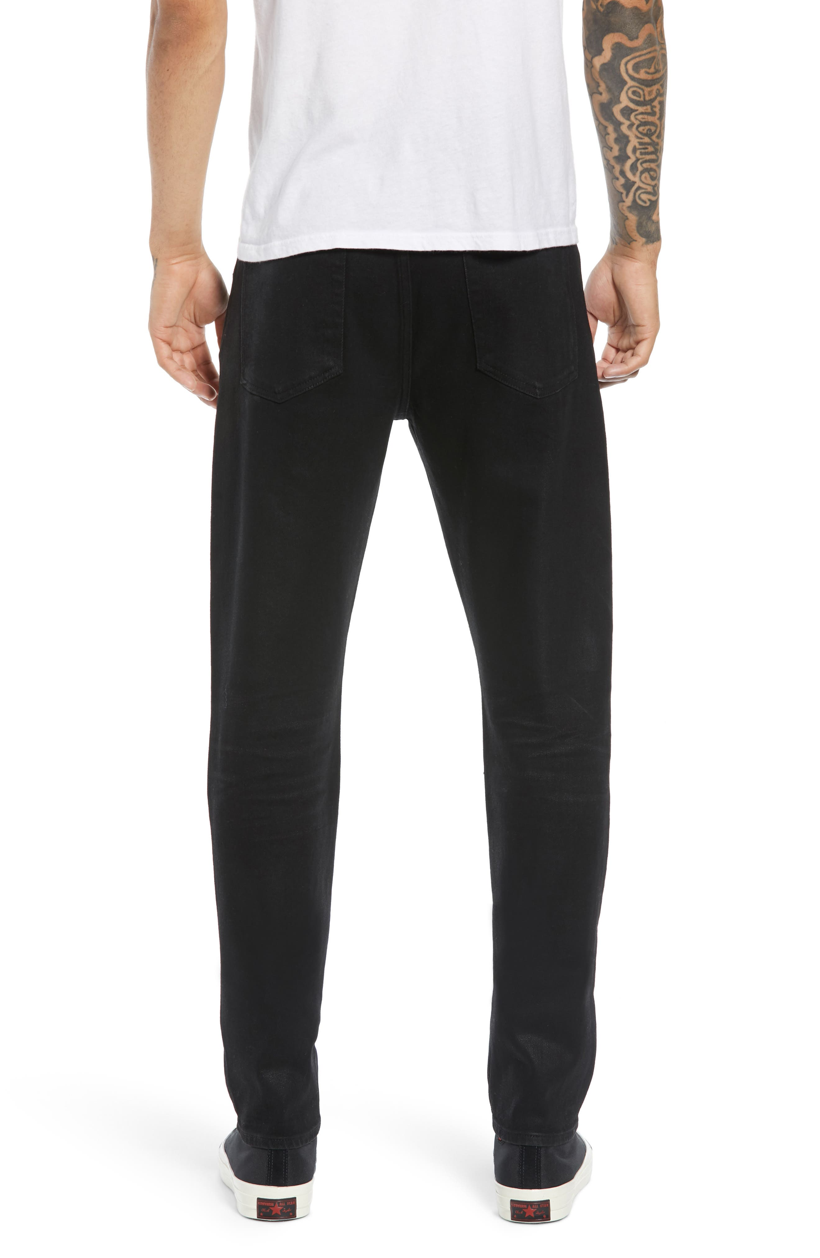 7 FOR ALL MANKIND<SUP>®</SUP>, Ryley Skinny Fit Jeans, Alternate thumbnail 2, color, 004
