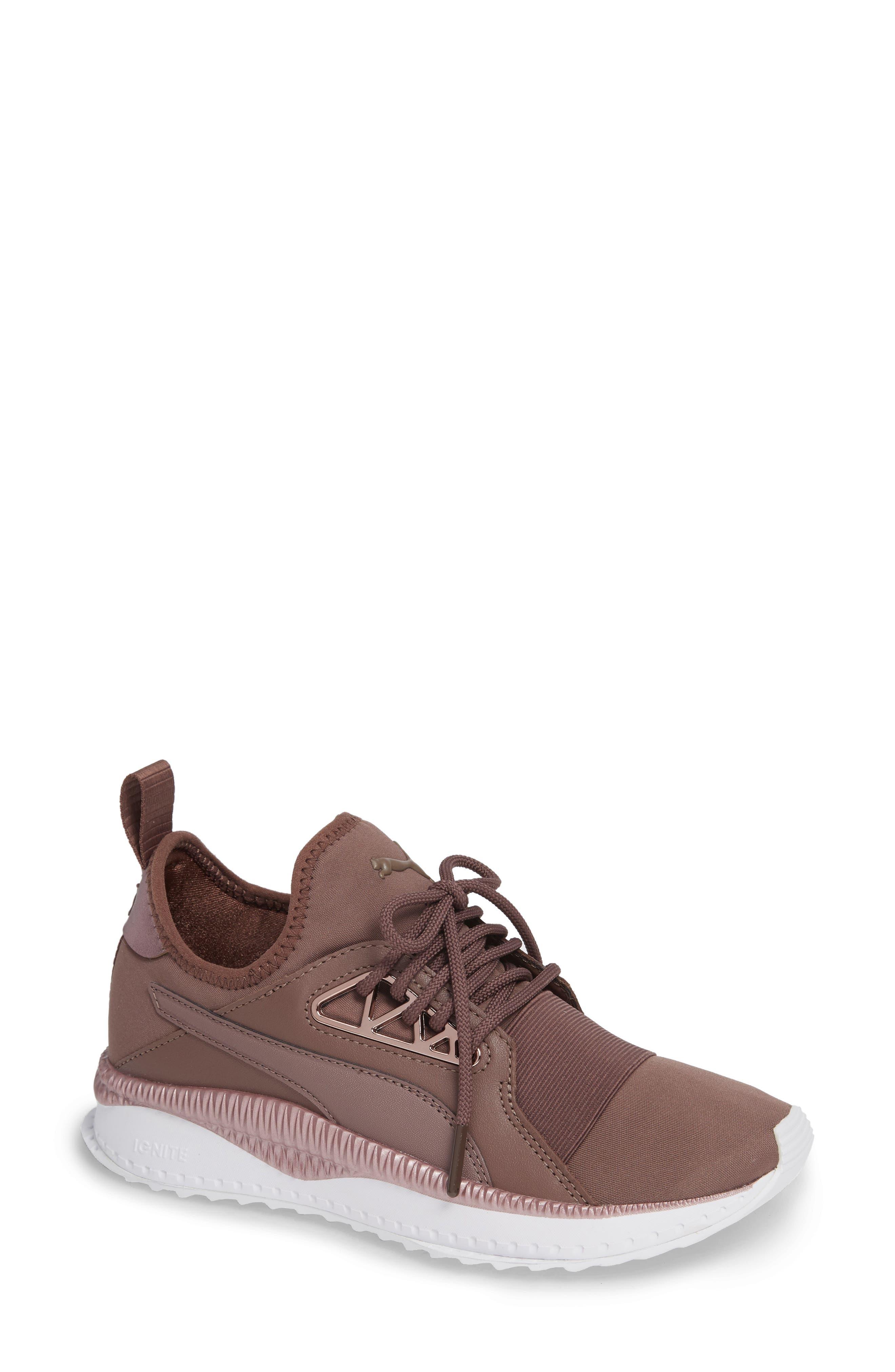PUMA, TSUGI Apex Jewel Sneaker, Main thumbnail 1, color, PEPPERCORN/ PEPPERCORN