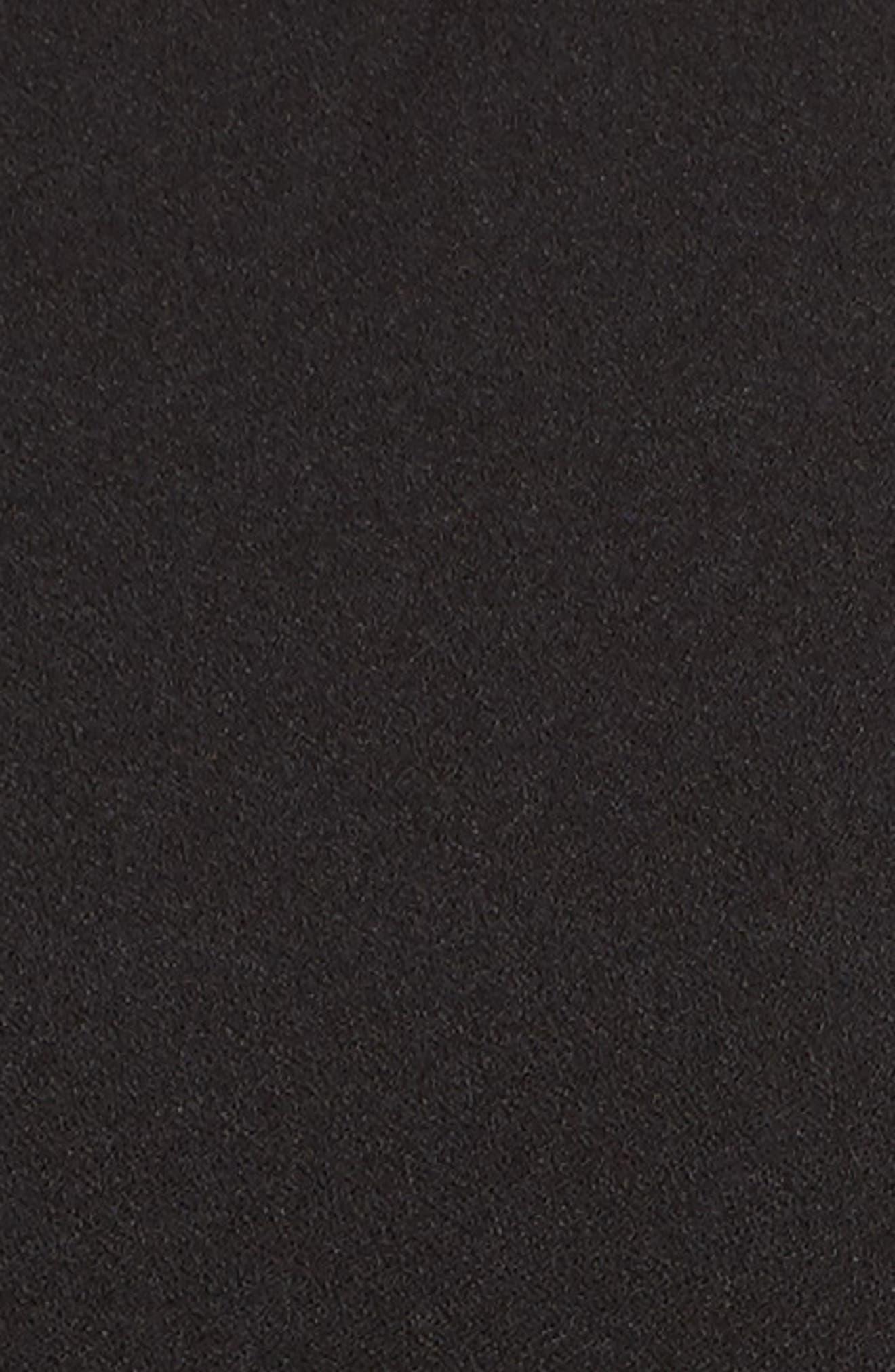LULUS, Moment for Life Halter Jumpsuit, Alternate thumbnail 6, color, BLACK