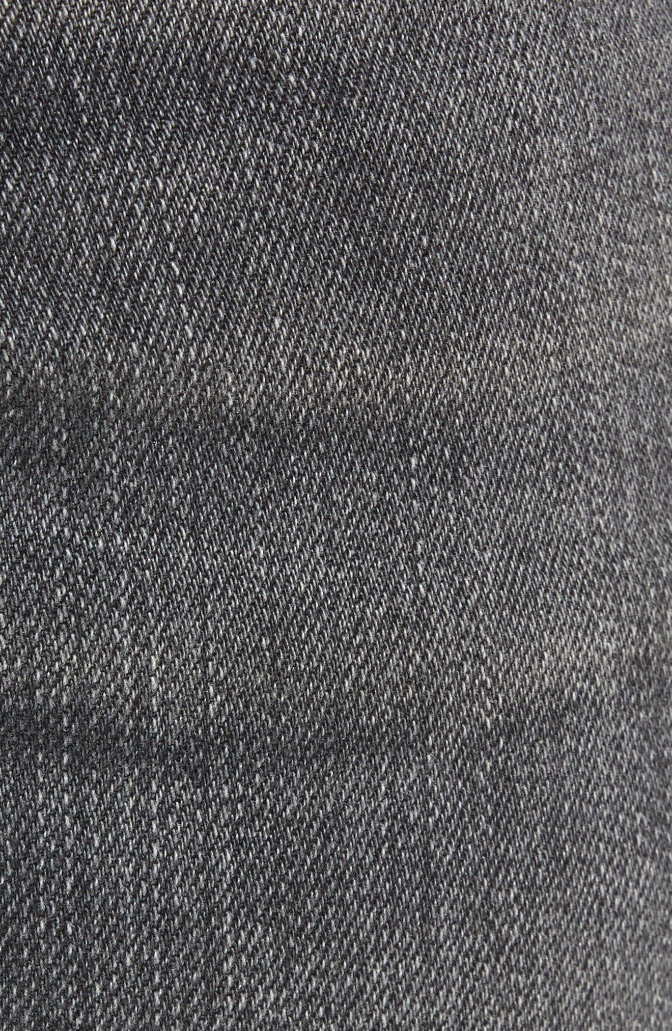 AG, Everett Slim Straight Leg Jeans, Alternate thumbnail 6, color, 6 YEARS ARCADE