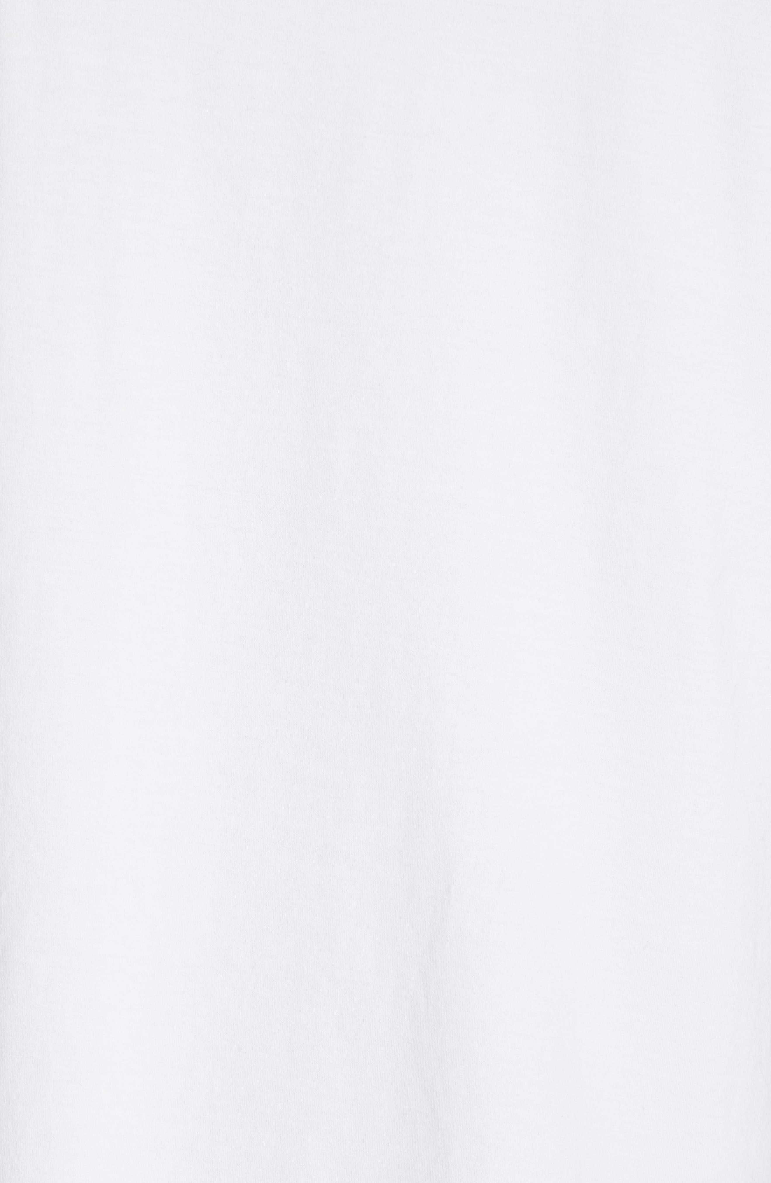 CALVIN KLEIN 205W39NYC, Logo T-Shirt, Alternate thumbnail 5, color, OPTIC WHITE