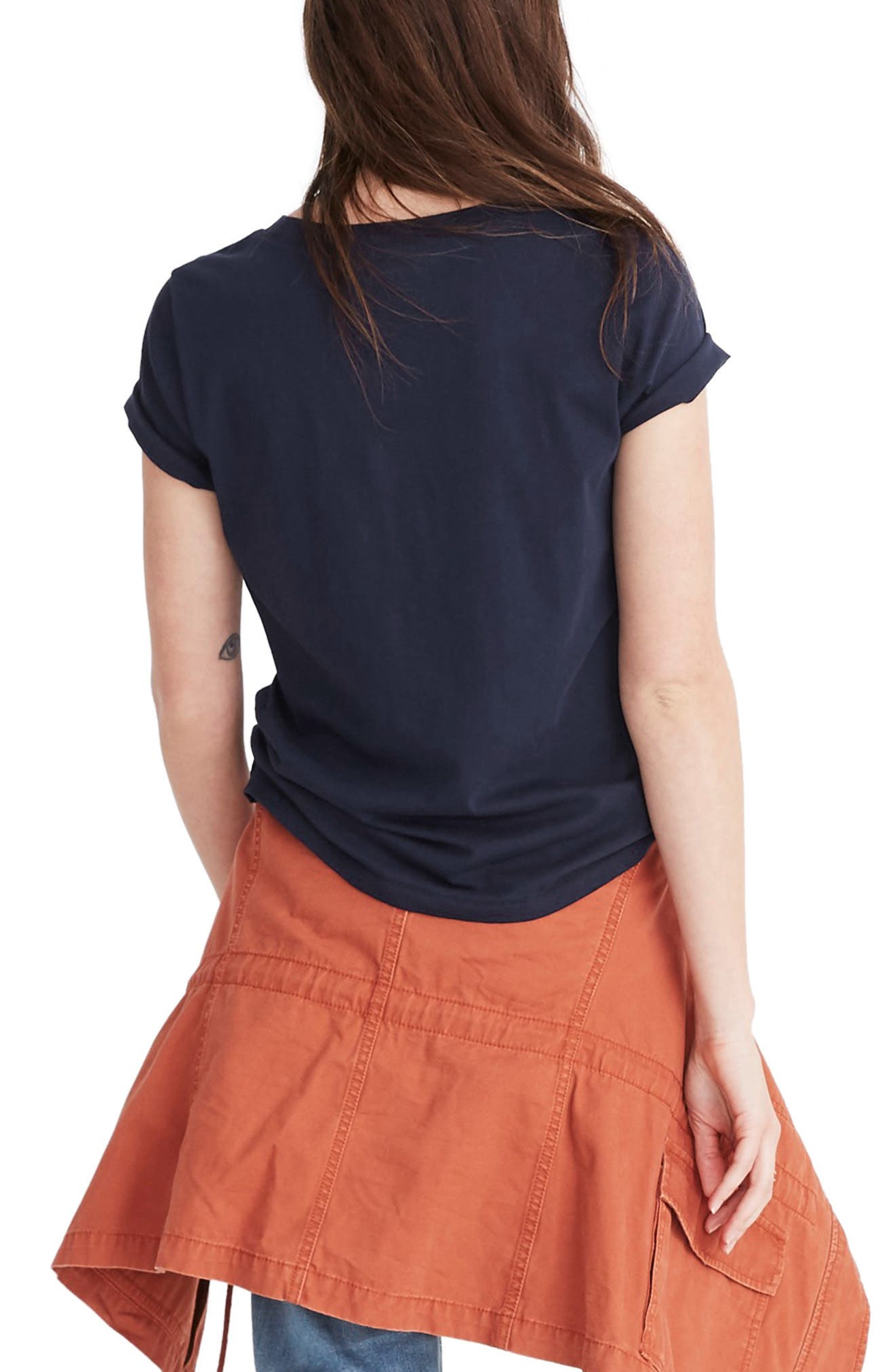 MADEWELL, Northside Vintage Tee, Alternate thumbnail 2, color, JUNIPER BERRY
