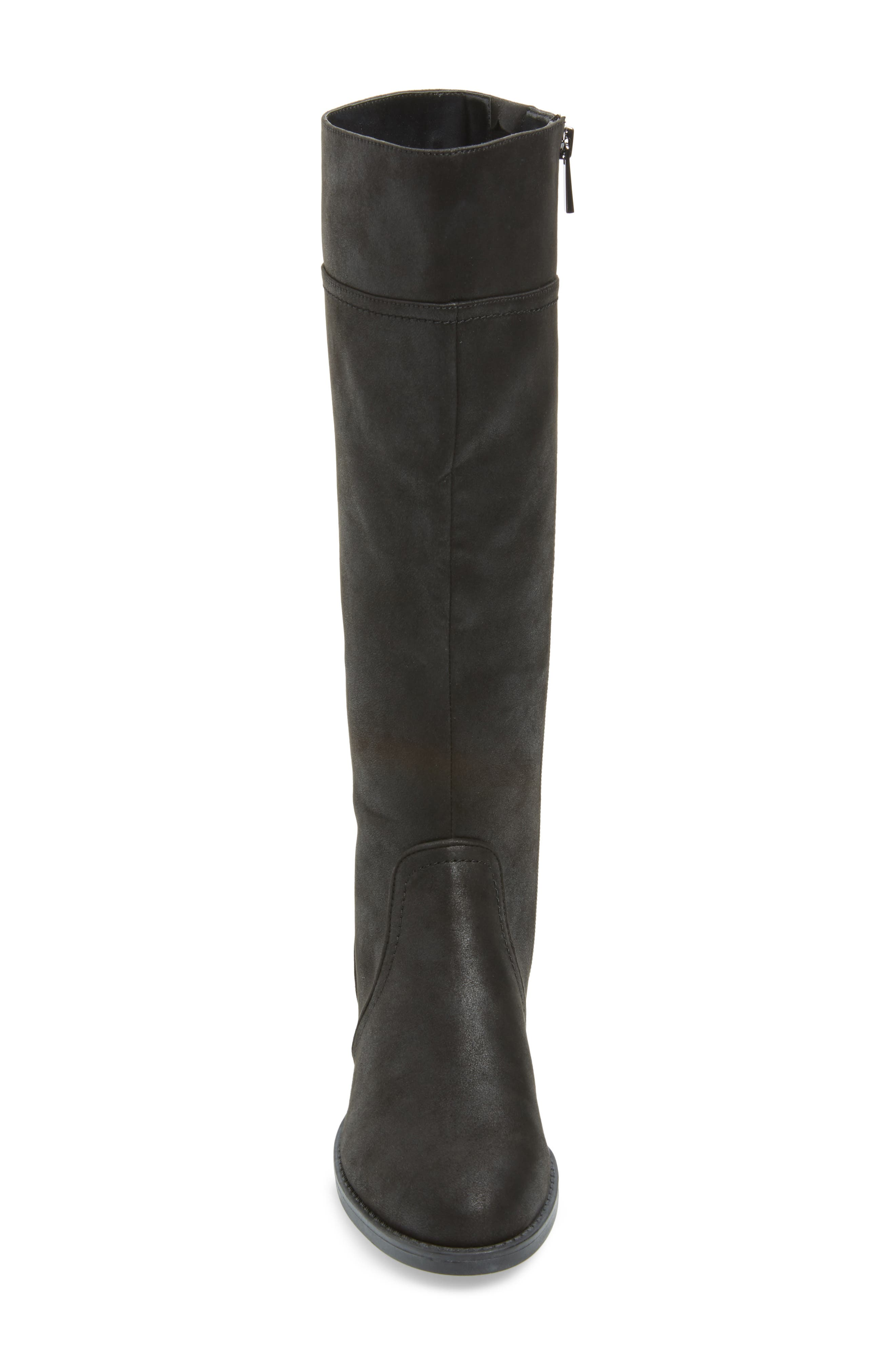 BELLA VITA, Rebecca II Knee High Boot, Alternate thumbnail 4, color, 001