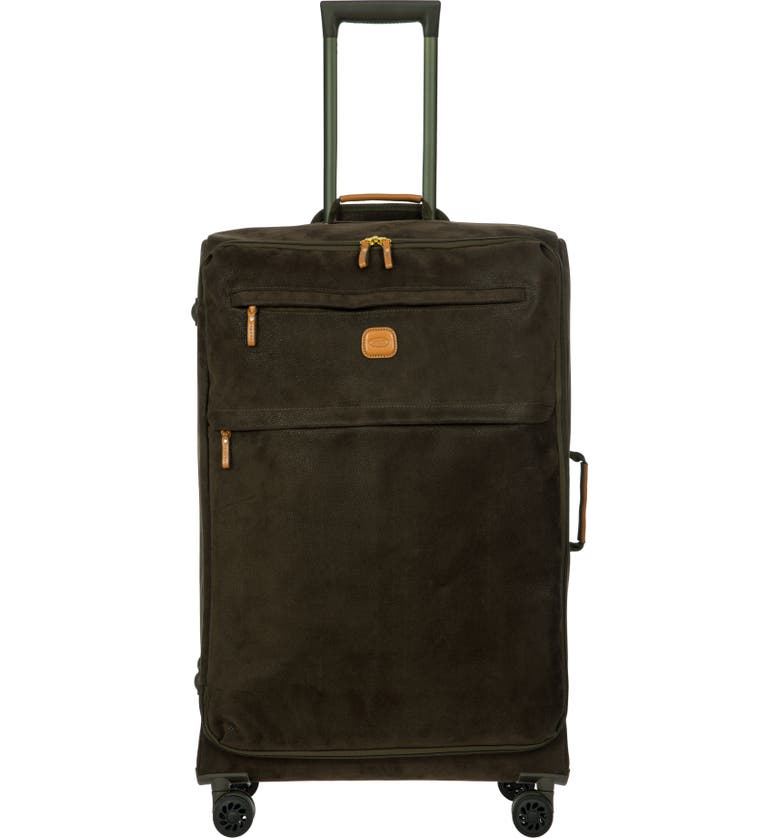 Bric's Shoes LIFE COLLECTION 30-INCH WHEELED SUITCASE - GREEN