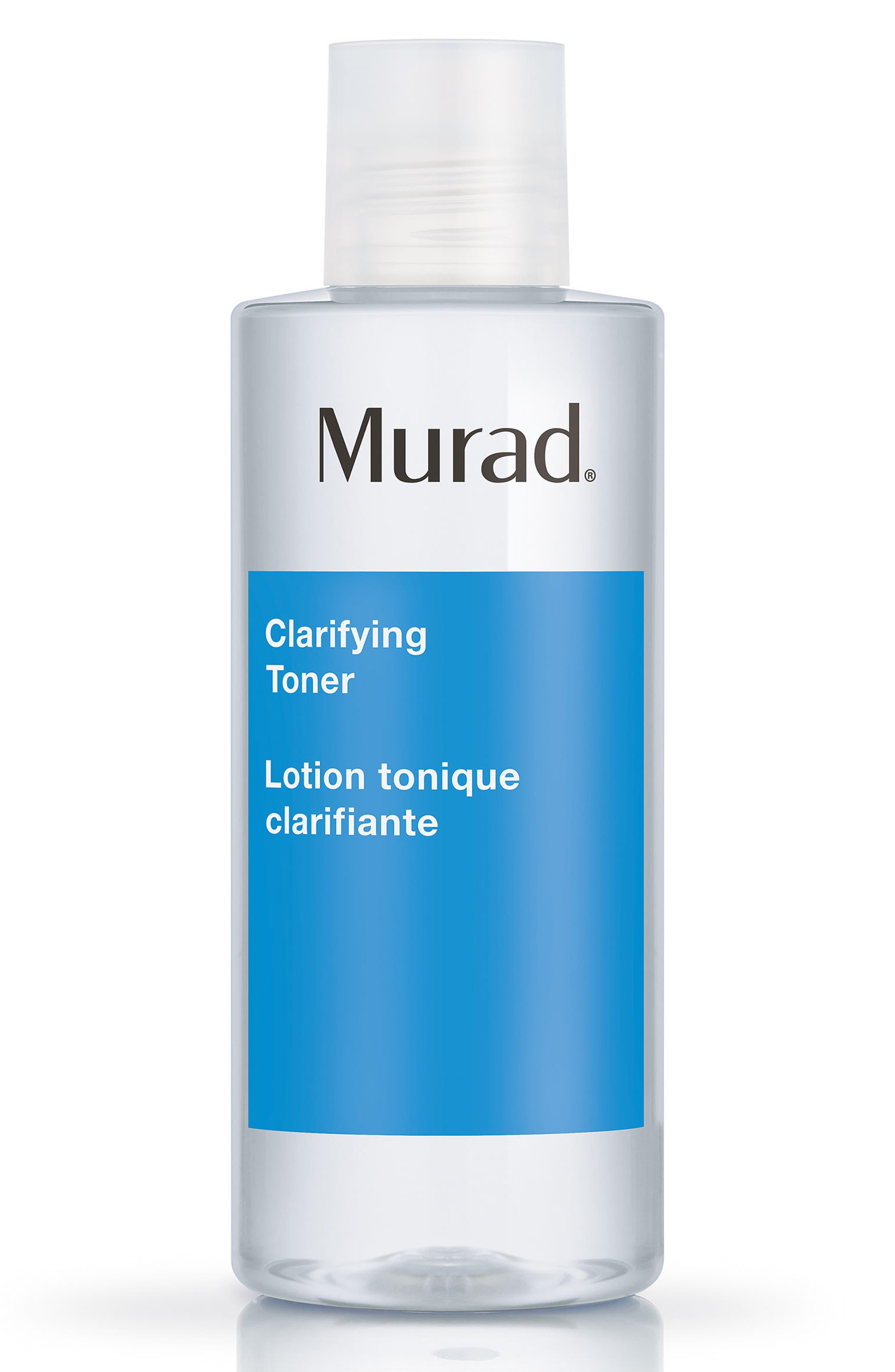 MURAD<SUP>®</SUP>, Clarifying Toner, Main thumbnail 1, color, NO COLOR