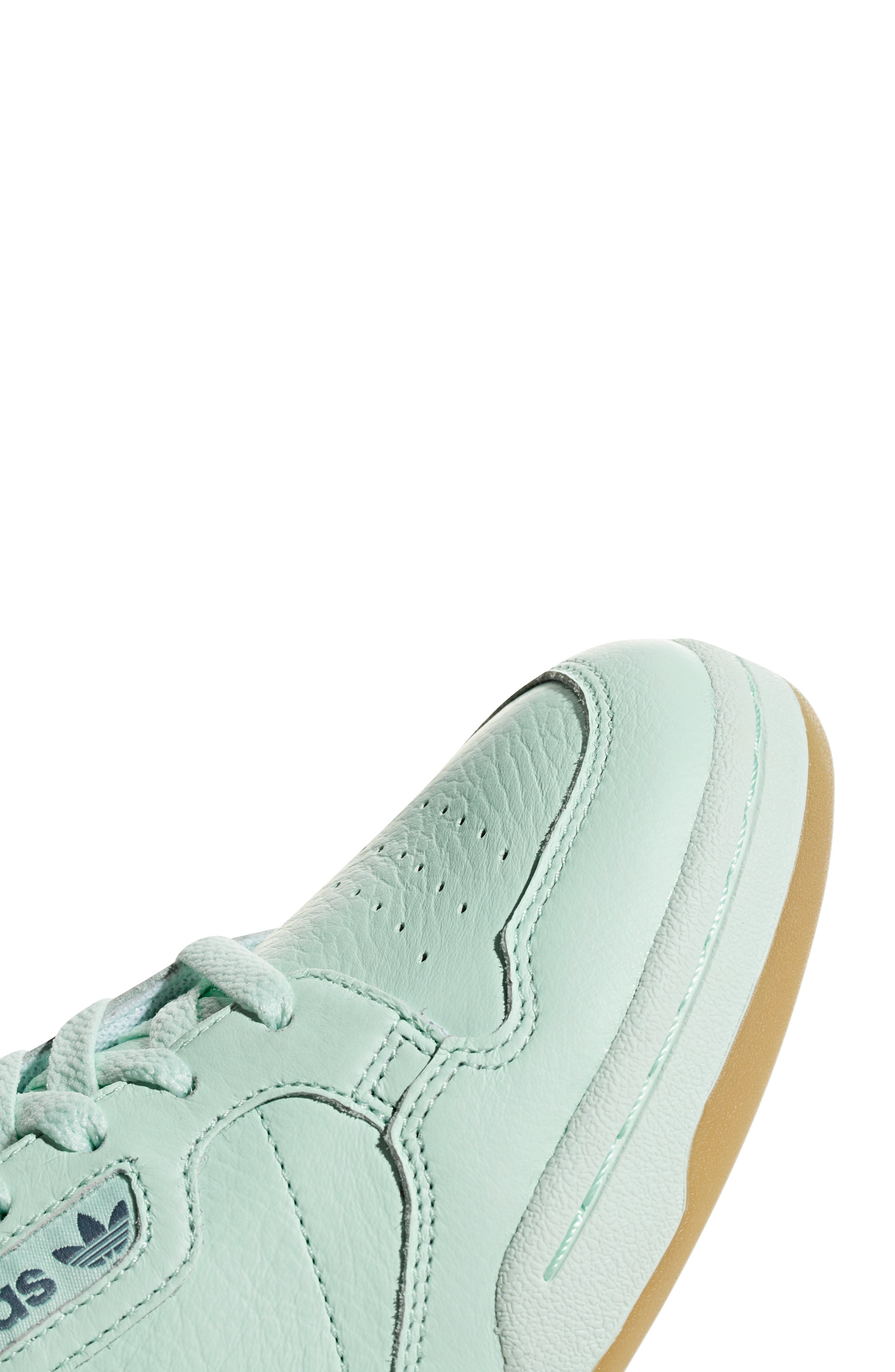 ADIDAS, Continental 80 Sneaker, Alternate thumbnail 6, color, ICE MINT/ NAVY/ GREY
