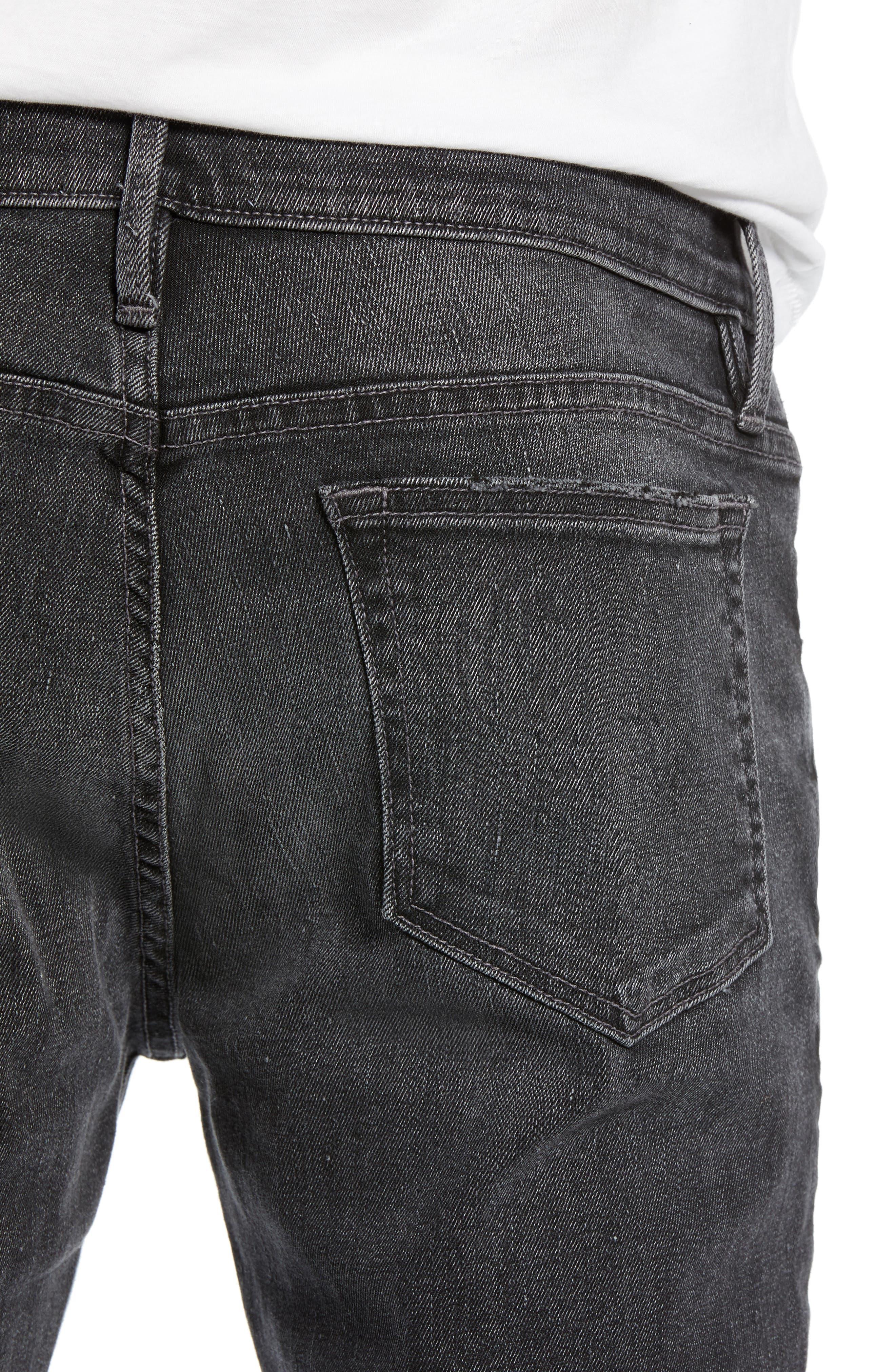 FRAME, L'Homme Slim Fit Jeans, Alternate thumbnail 5, color, HUBBELL
