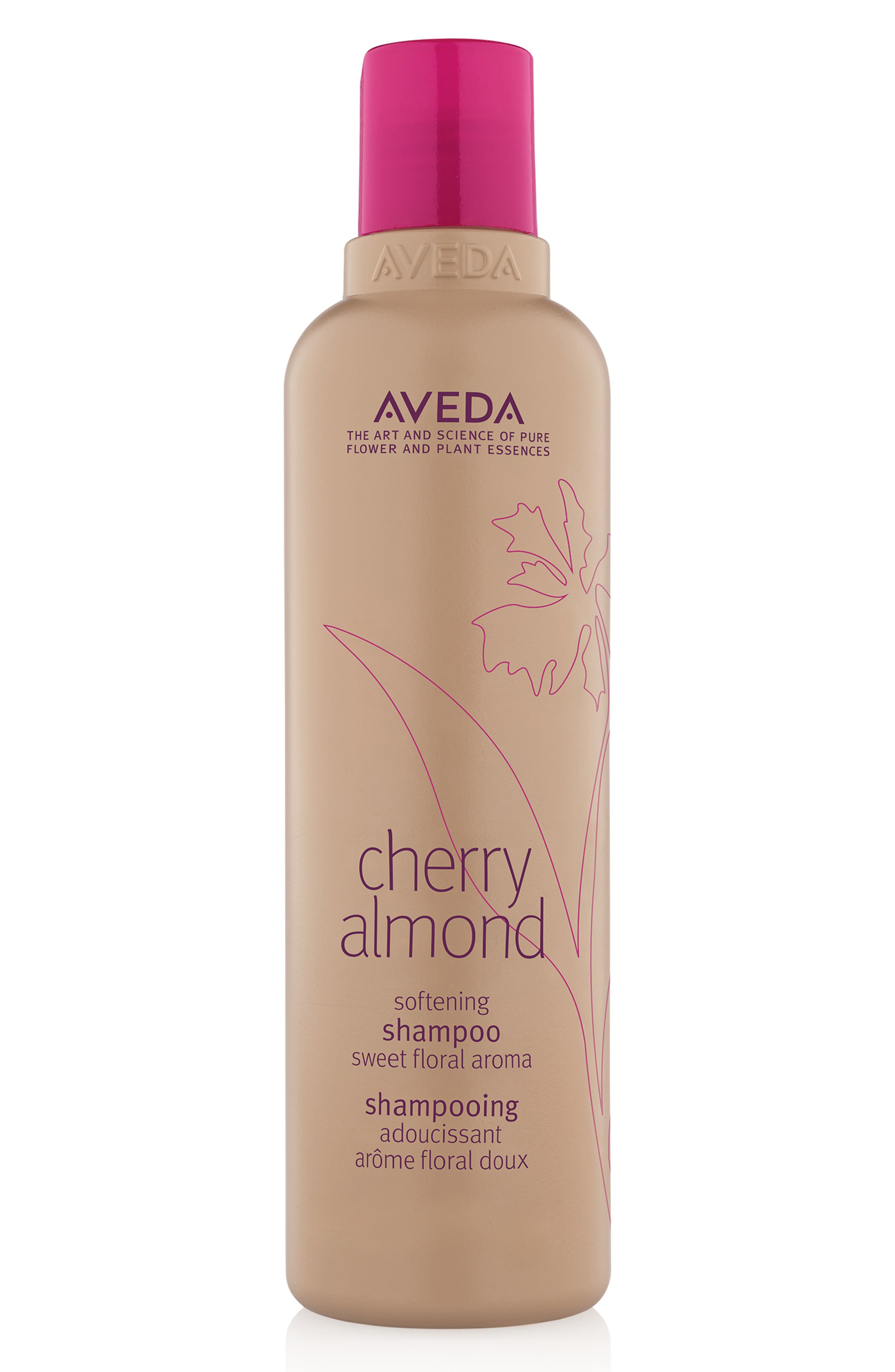 AVEDA, Cherry Almond Softening Shampoo, Main thumbnail 1, color, NO COLOR