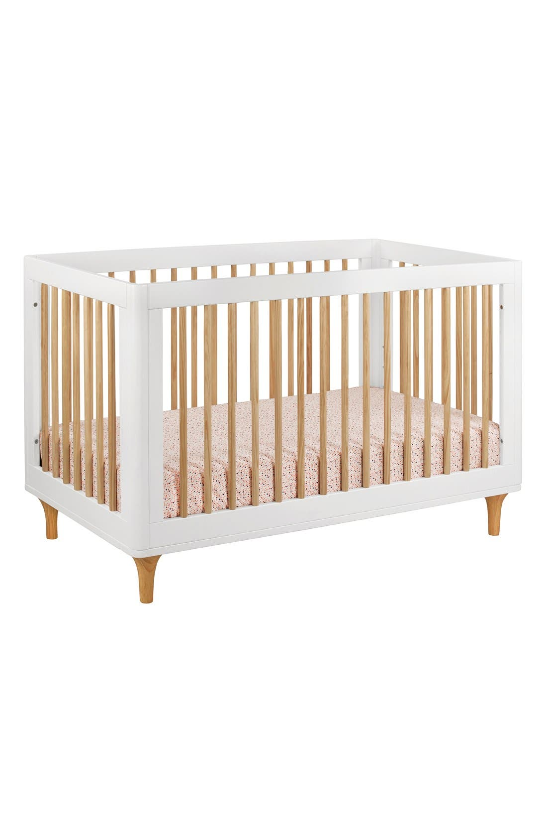 BABYLETTO, 'Lolly' 3-in-1 Convertible Crib, Main thumbnail 1, color, 250